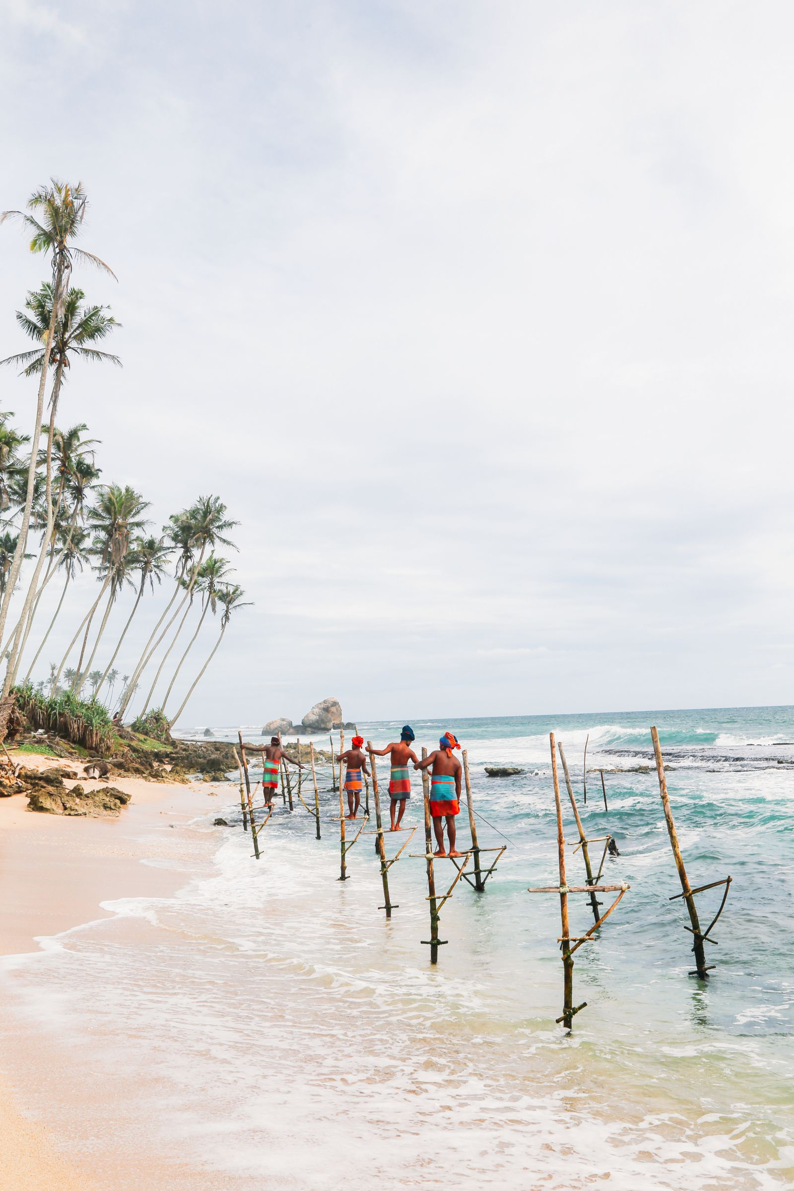 The Ancient Tradition Of Stilt Fishing… In Sri Lanka (24)
