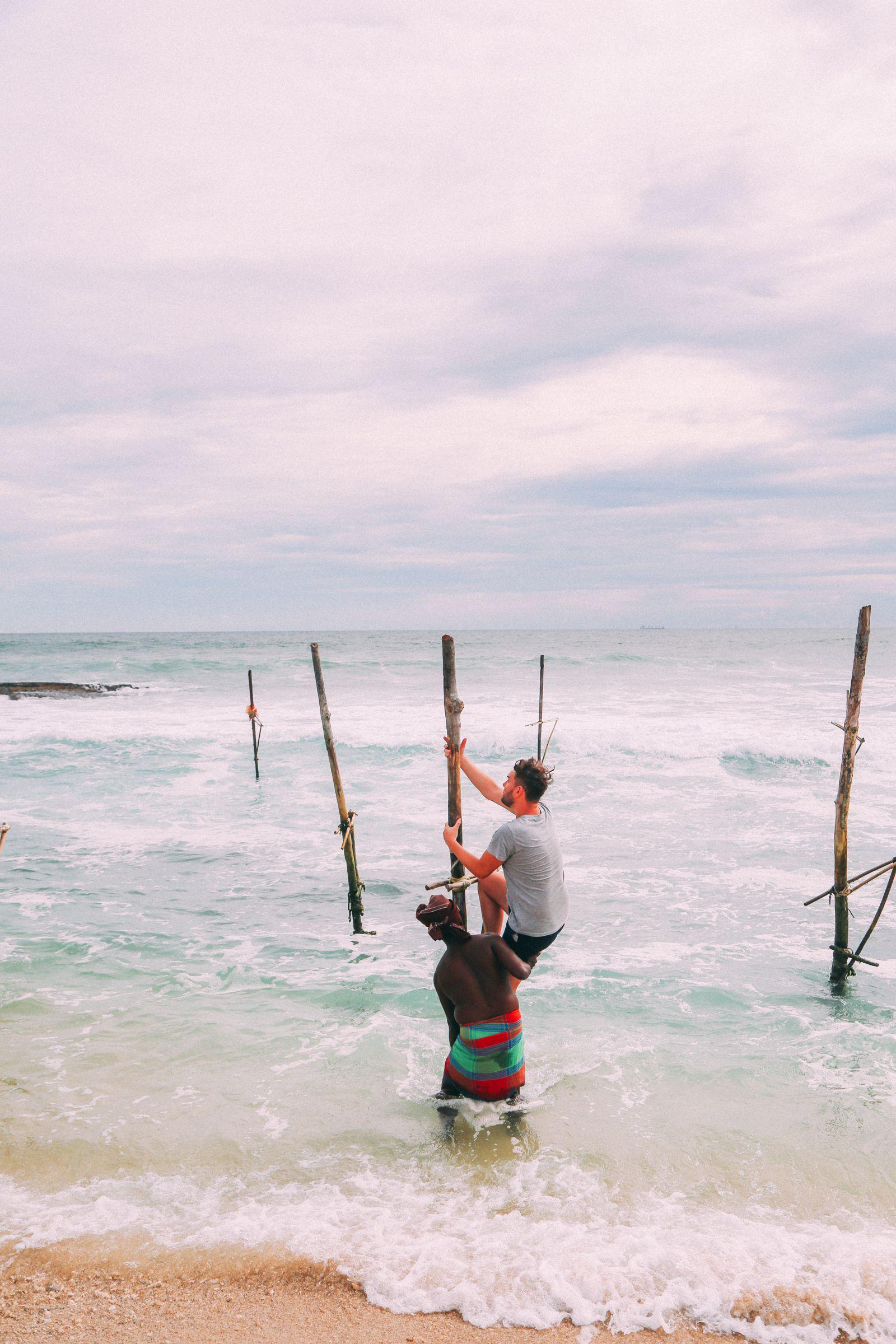 The Ancient Tradition Of Stilt Fishing… In Sri Lanka (30)