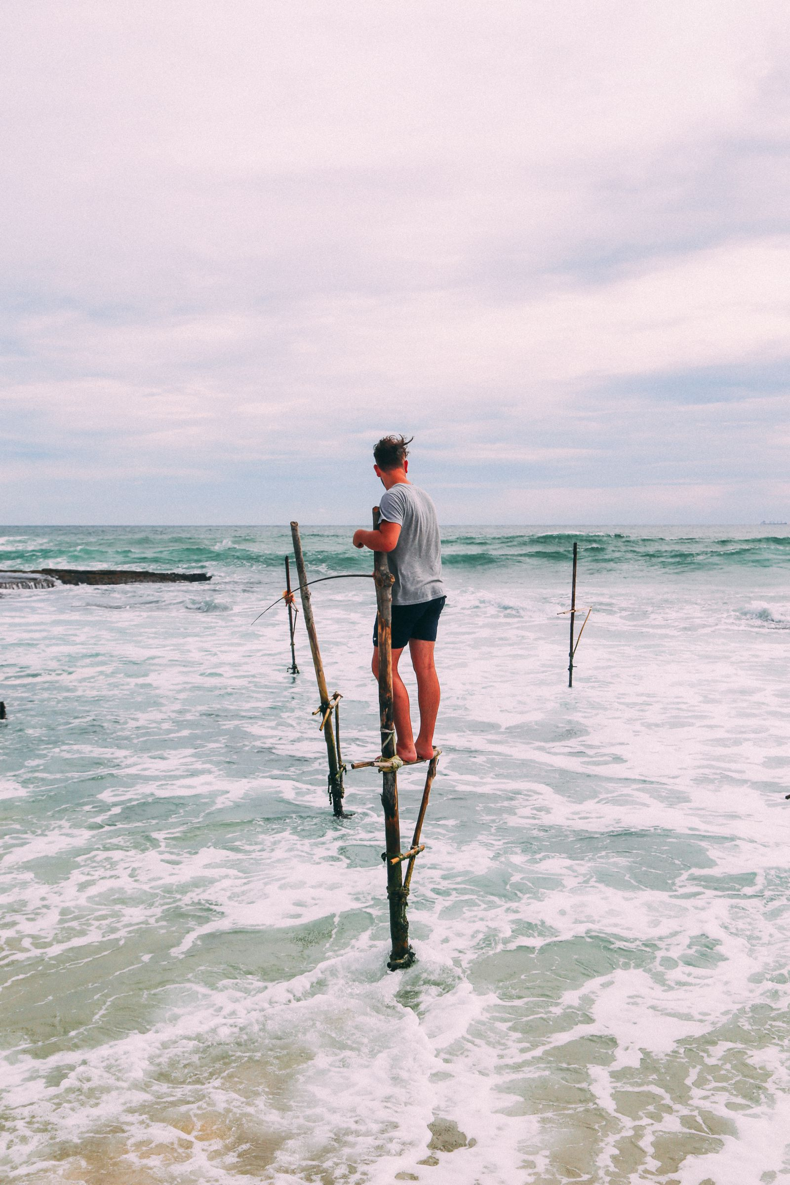 The Ancient Tradition Of Stilt Fishing… In Sri Lanka (31)