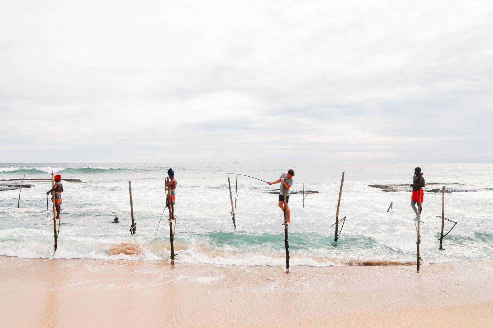 The Ancient Tradition Of Stilt Fishing… In Sri Lanka (34)