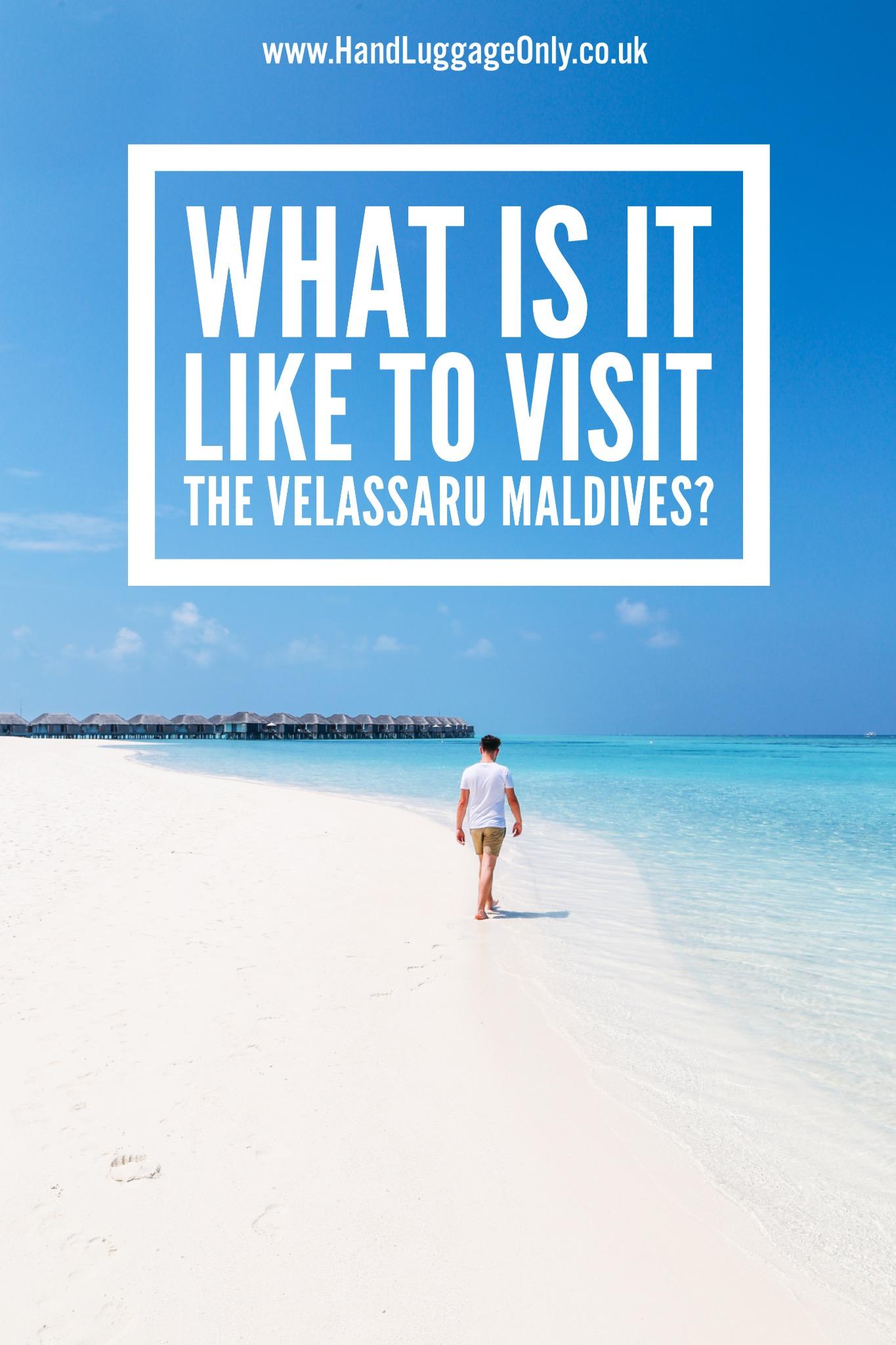 Sunny Days At The Velassaru Maldives (2)