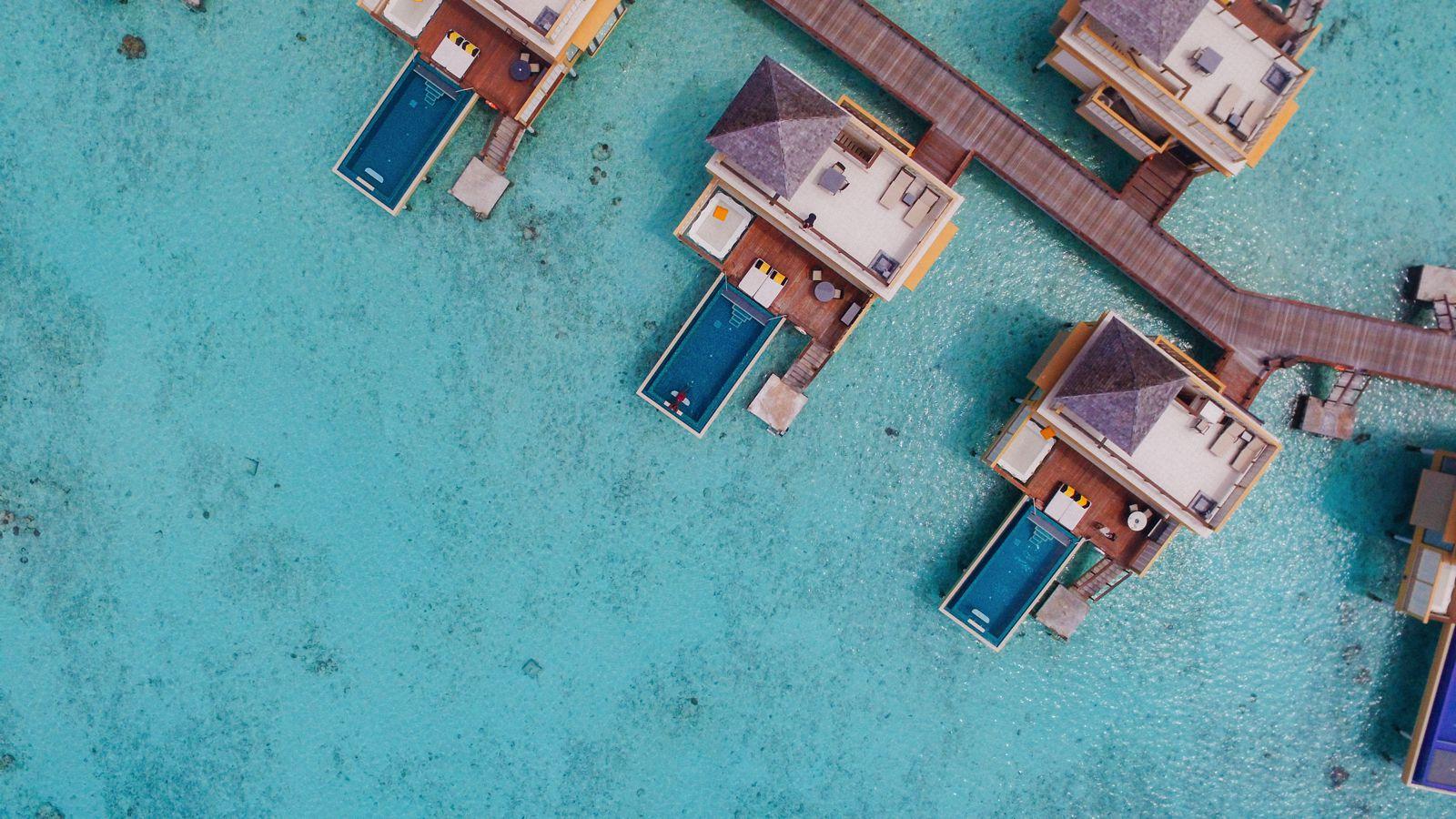 The View From Above... At The Angsana Velavaru Maldives (9)