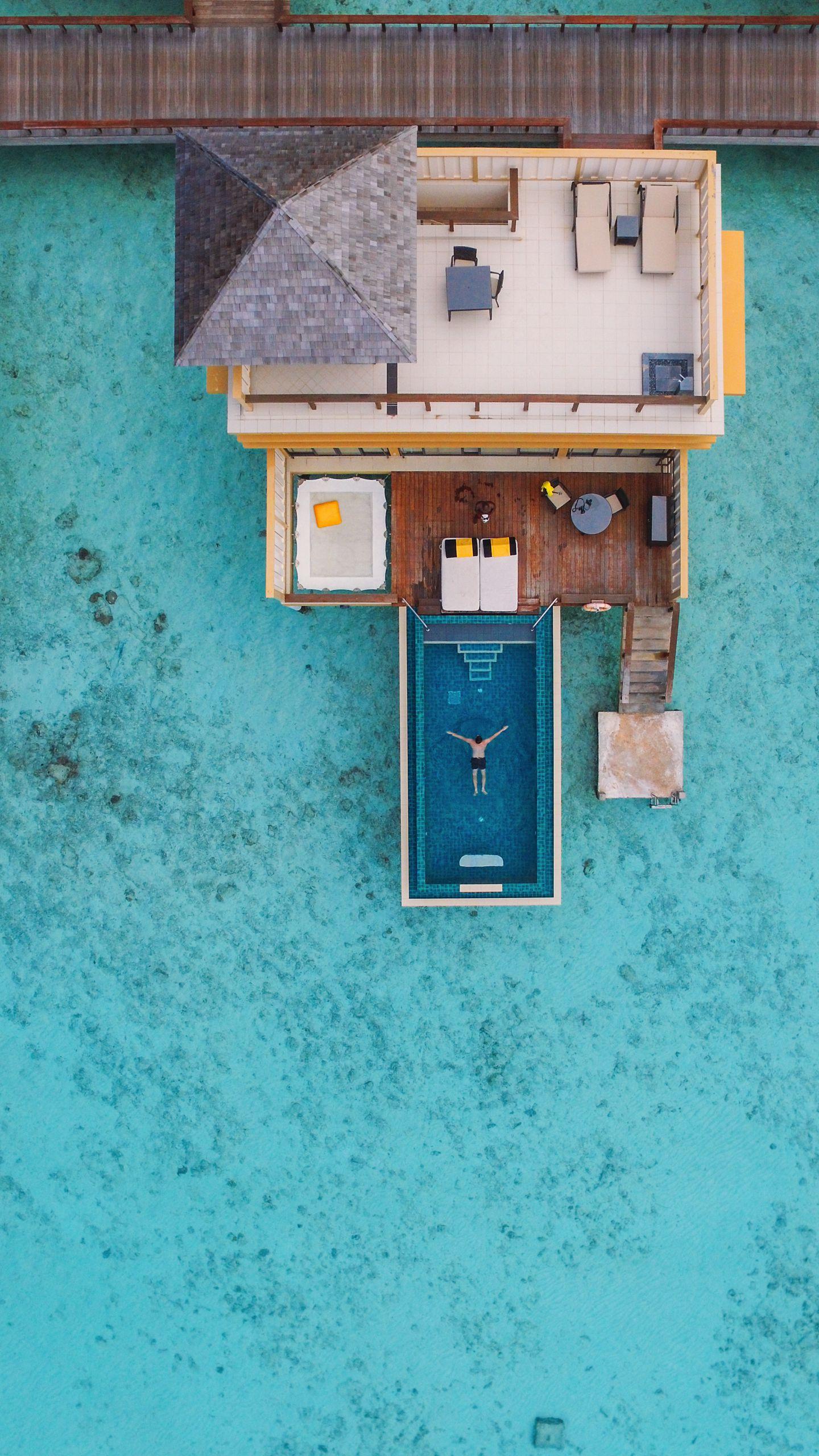 The View From Above... At The Angsana Velavaru Maldives (15)