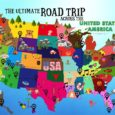 The Ultimate Road Trip Map Of Things To Do In The USA