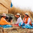 The Floating Villages Of Lake Titicaca In Peru