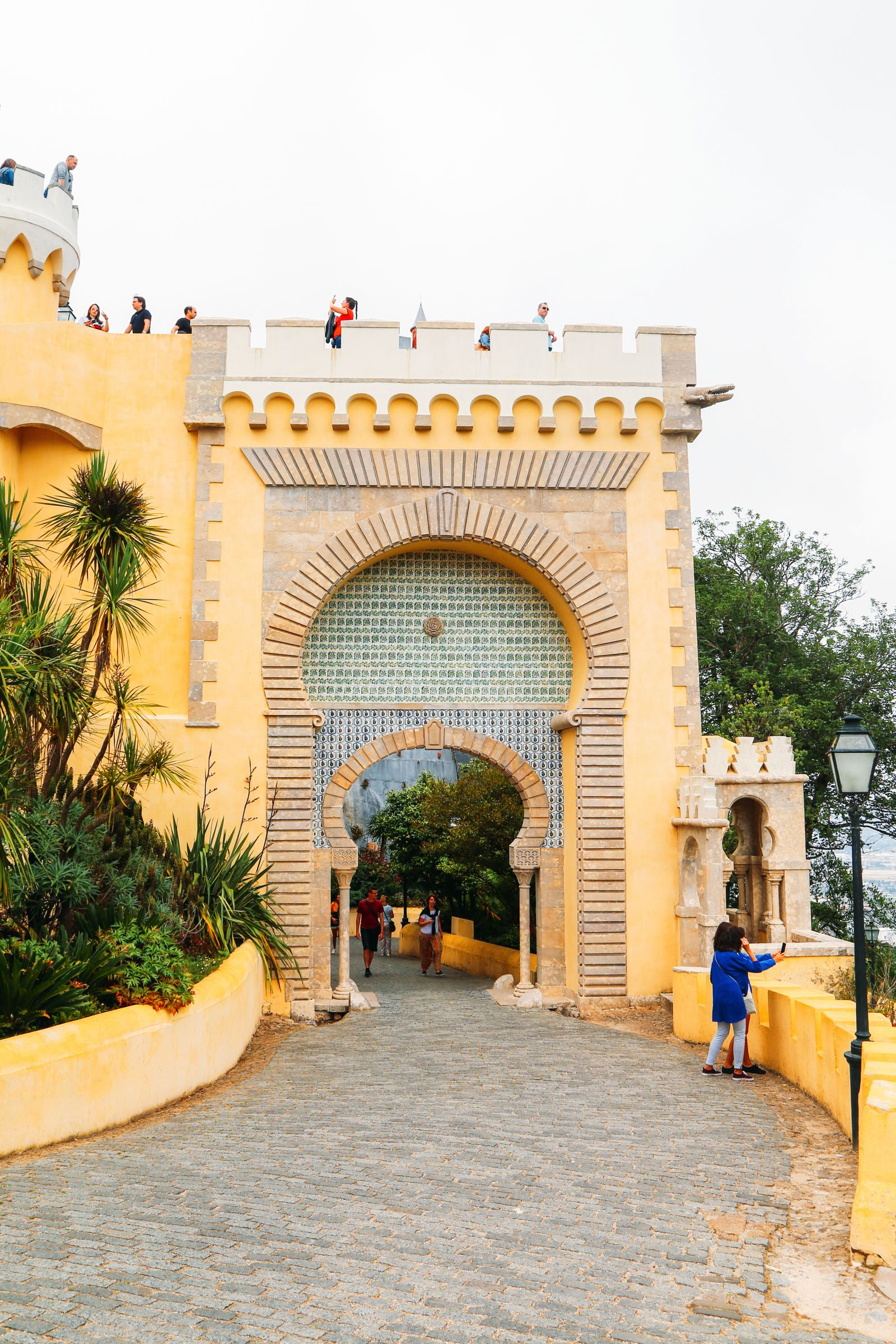 The Beautiful Pena Palace Of Sintra, Portugal (6)