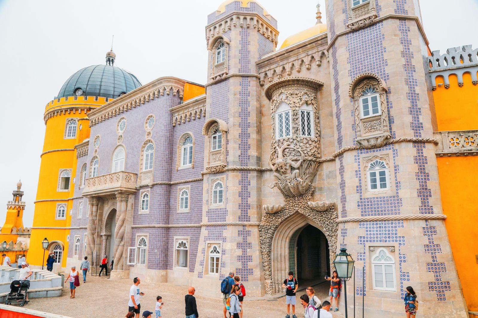 The Beautiful Pena Palace Of Sintra, Portugal (17)