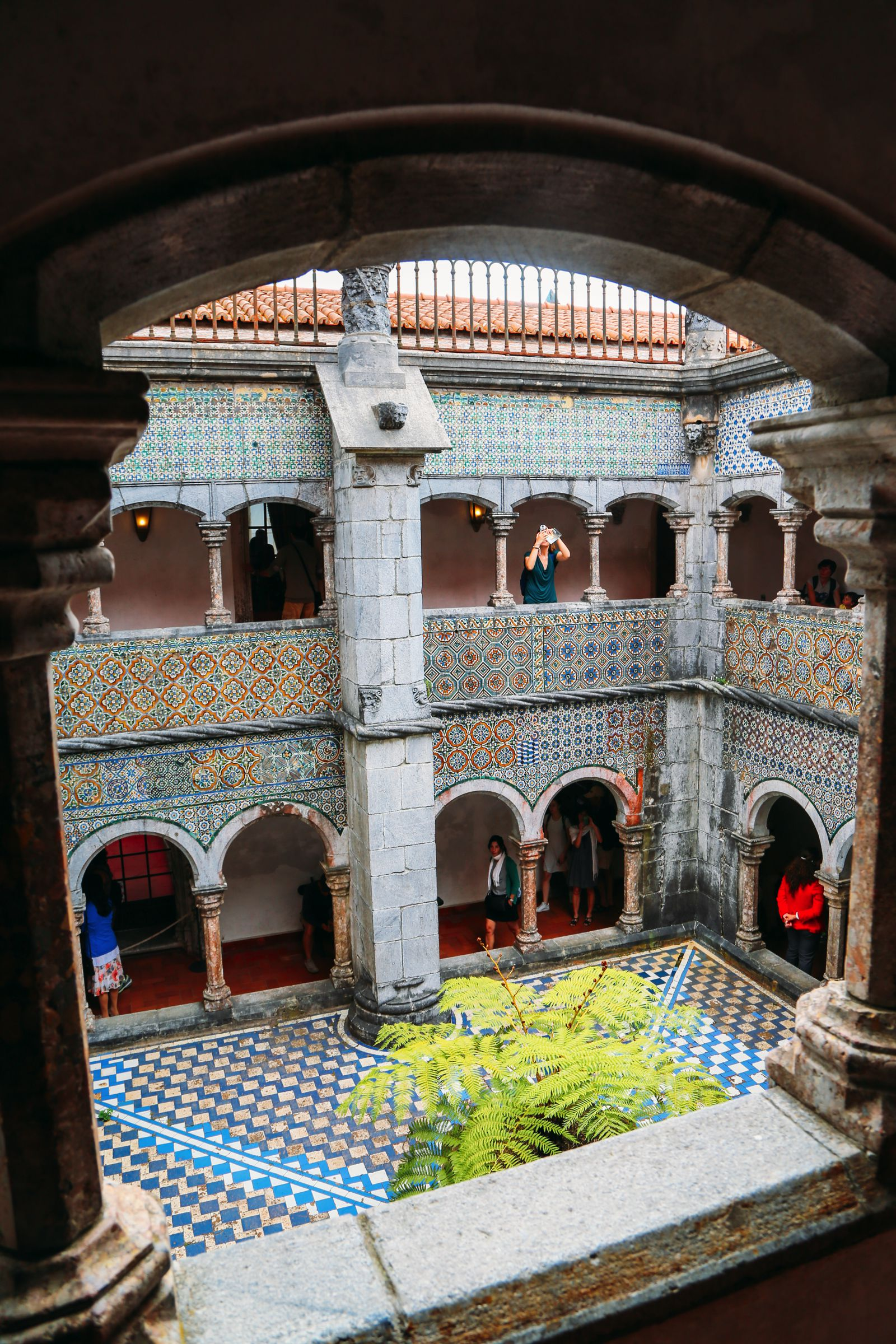 The Beautiful Pena Palace Of Sintra, Portugal (51)