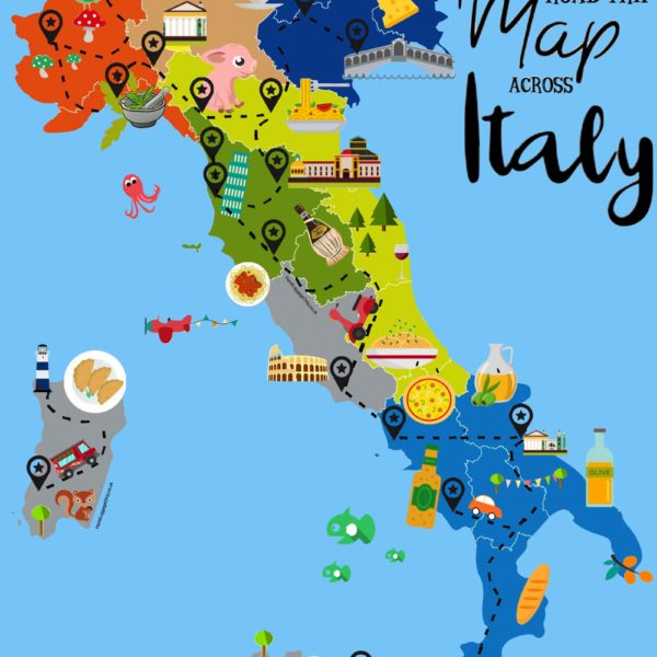Italy food map showing where and what to eat in Italy (2)