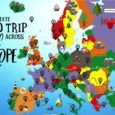 The Complete Europe Road Trip Map: 49 Places To Visit And Things To Do Across Europe