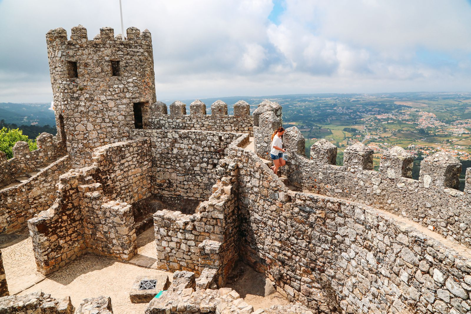 The Moorish Castle, Palace of Sintra And Pena Park – 3 Beautiful Places To See In Sintra, Portugal (6)