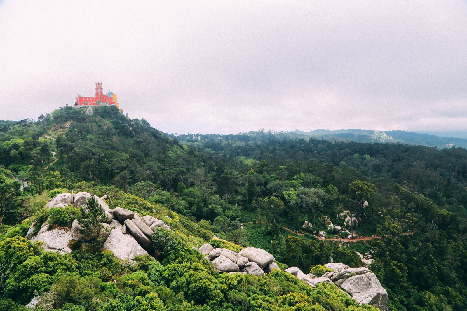 The Moorish Castle, Palace of Sintra And Pena Park – 3 Beautiful Places To See In Sintra, Portugal (22)