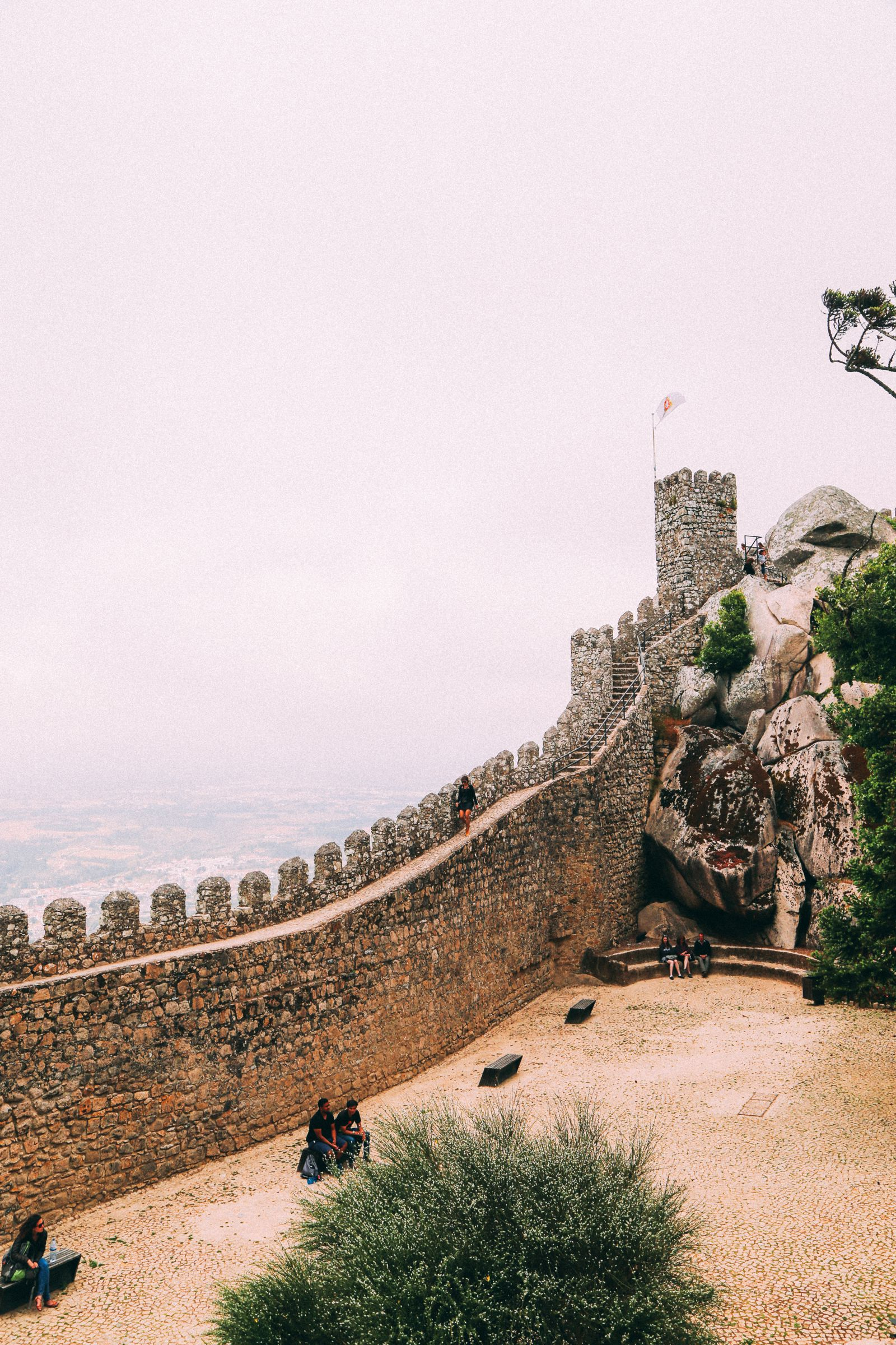 The Moorish Castle, Palace of Sintra And Pena Park – 3 Beautiful Places To See In Sintra, Portugal (24)