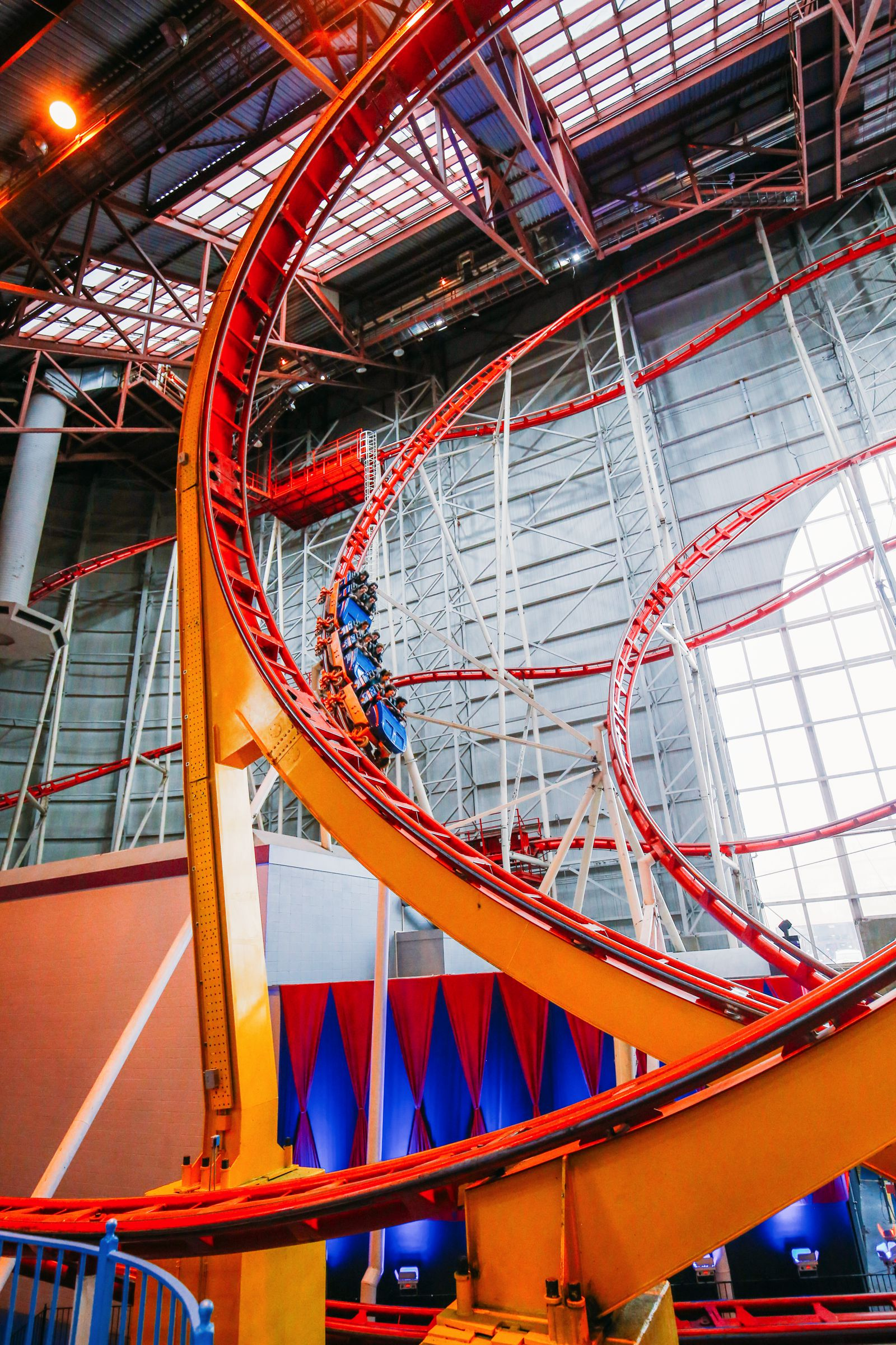 The World's Tallest Indoor Roller Coaster... In Edmonton, Canada (36)