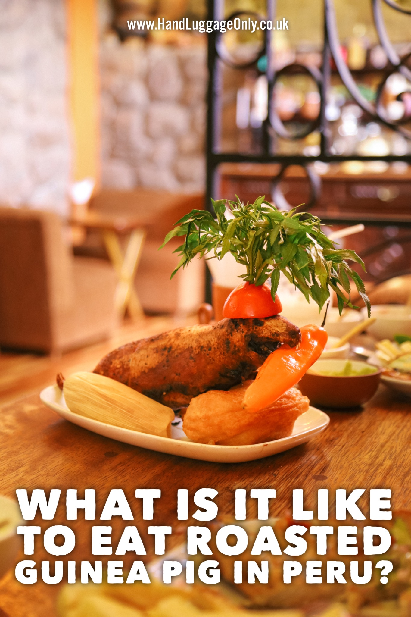What's It Like To Eat A Roasted Guinea Pig... In Cusco, Peru? (1)