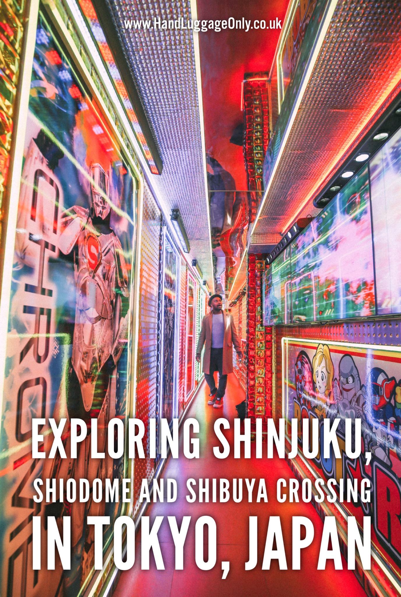 Tokyo Day One - Shiodome, Shibuya Crossing and Shinjuku