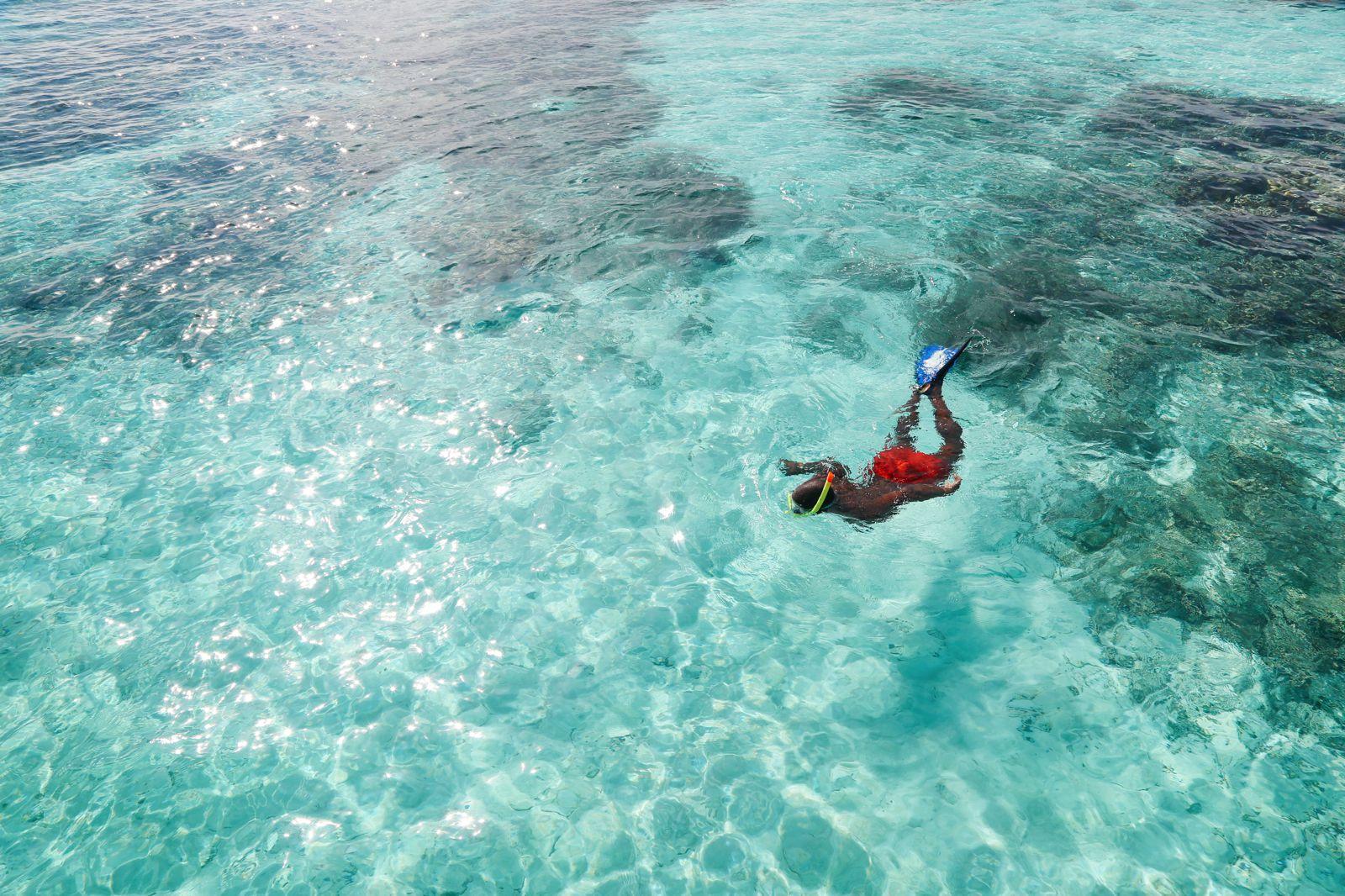 Swimming With Wild Turtles And Those Amazing Island Colours... At Kandolhu Island, Maldives (36)