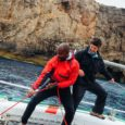 Sailing The Dramatic Shore Of Menorca, Spain