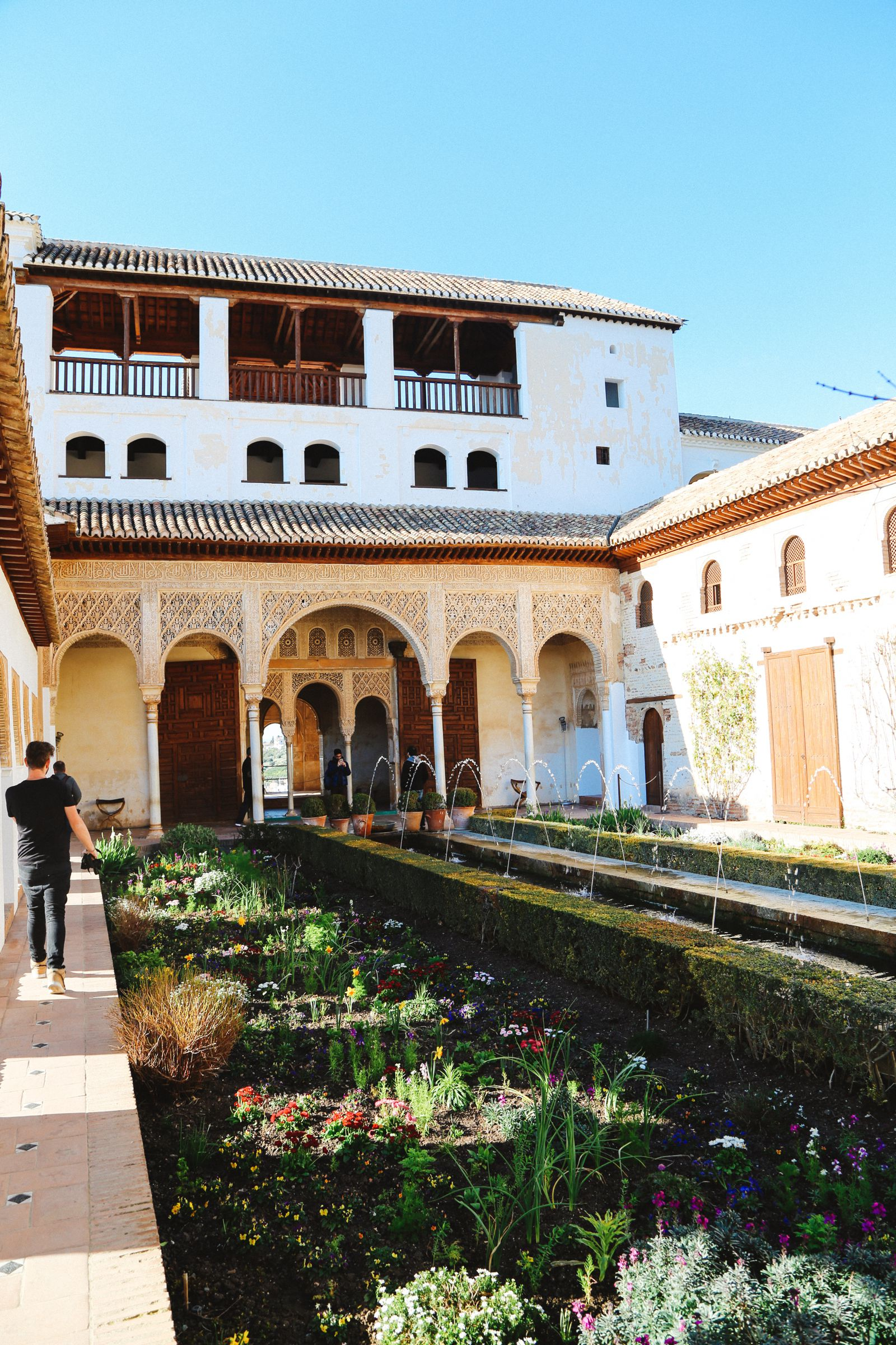 The Absolutely Beautiful Generalife Palace… In Granada, Spain (16)