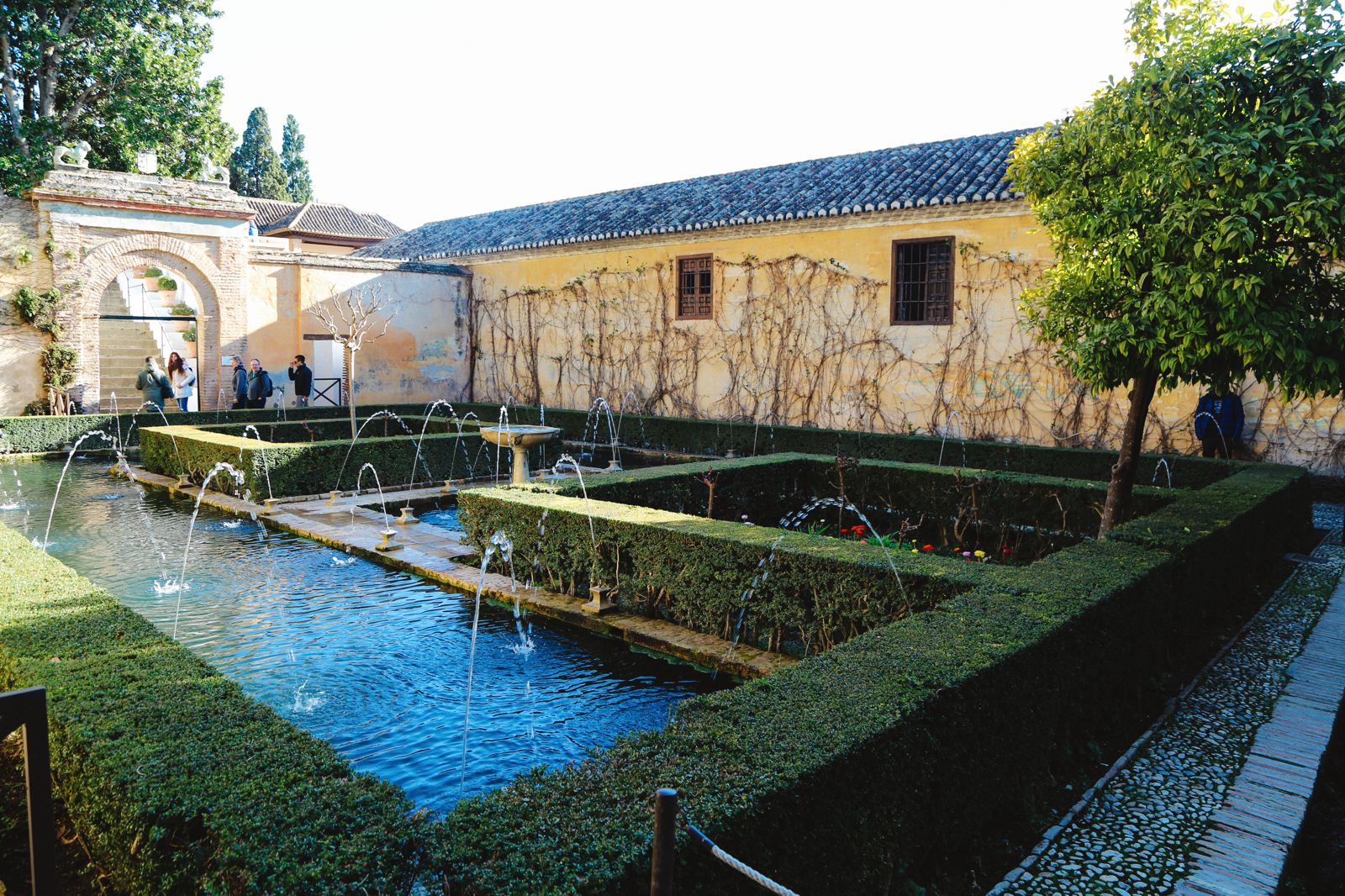 The Absolutely Beautiful Generalife Palace… In Granada, Spain (27)