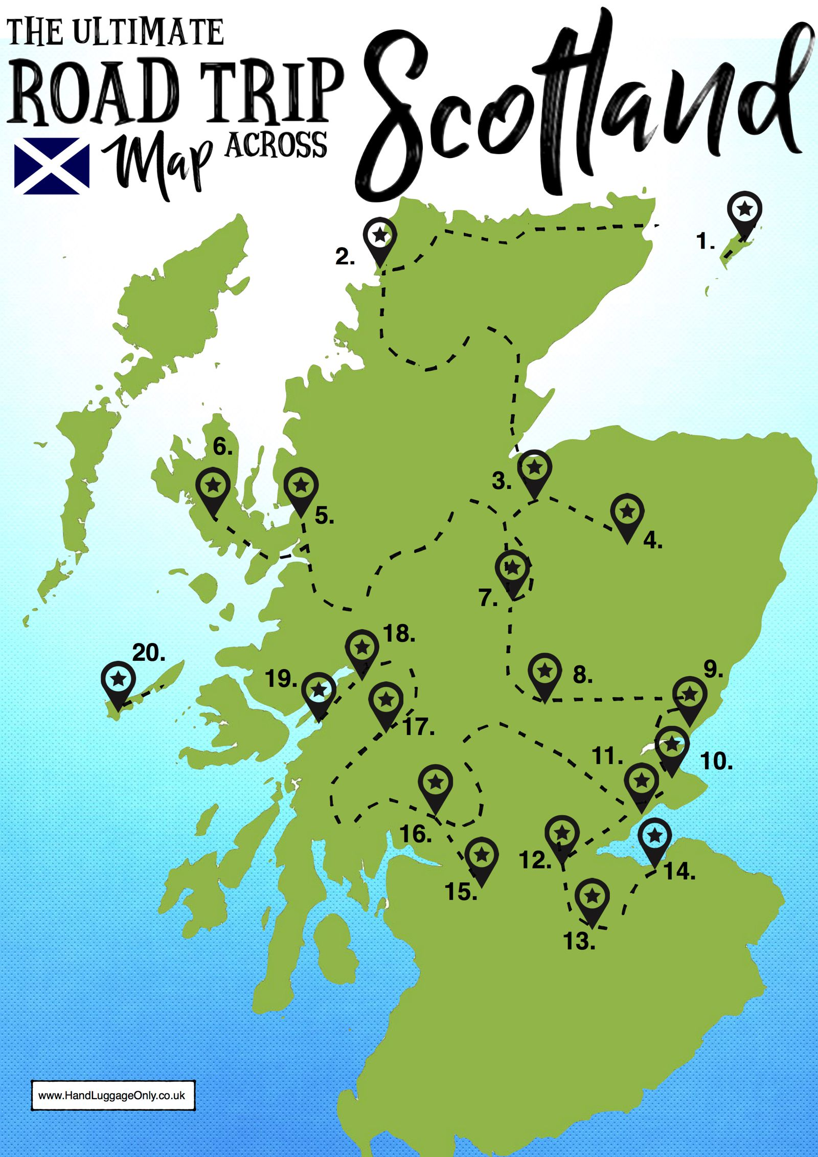 cross country trip planner map with The Ultimate Map Of Things To See When In Scotland on Tips For Planning Cross Canada Road Trip in addition Area likewise Best Road Trips In United States as well Google Map Route Planner also Audio Descriptions.