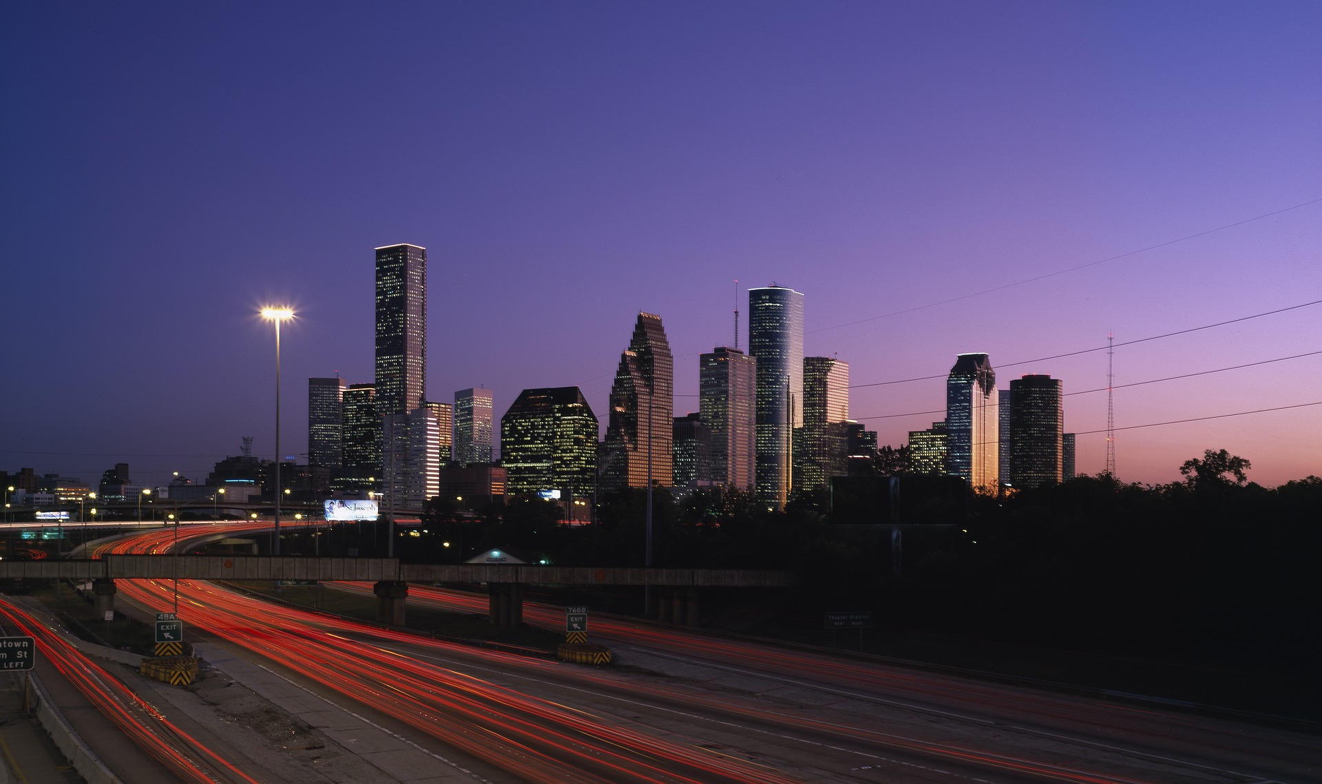 Houston City Lights Cheap Value Travel