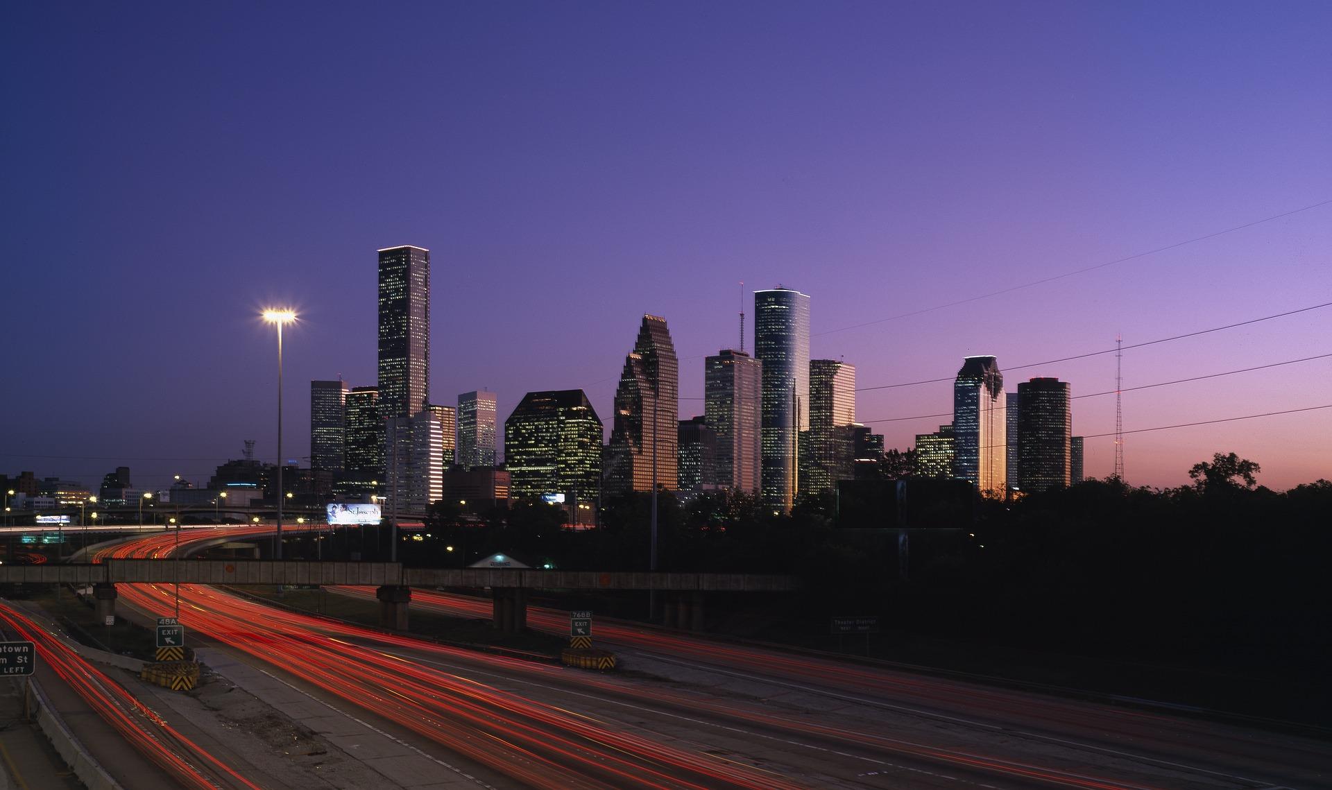 Houston City Lights Cheap Value Travel