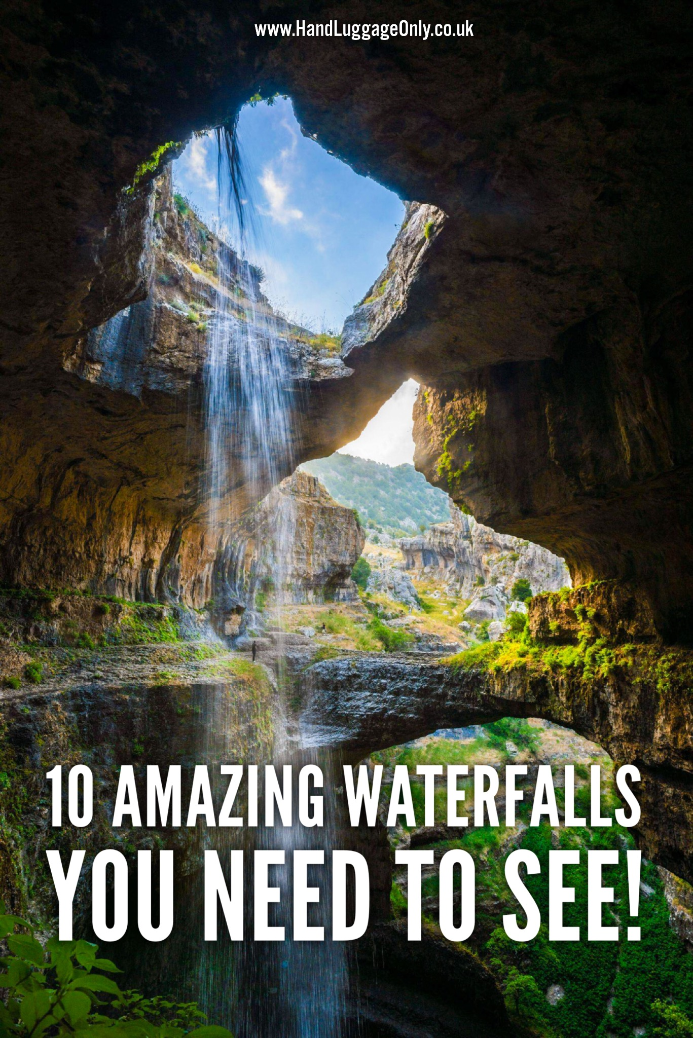 10 Amazing Waterfalls Around The World You Need To See! (1)
