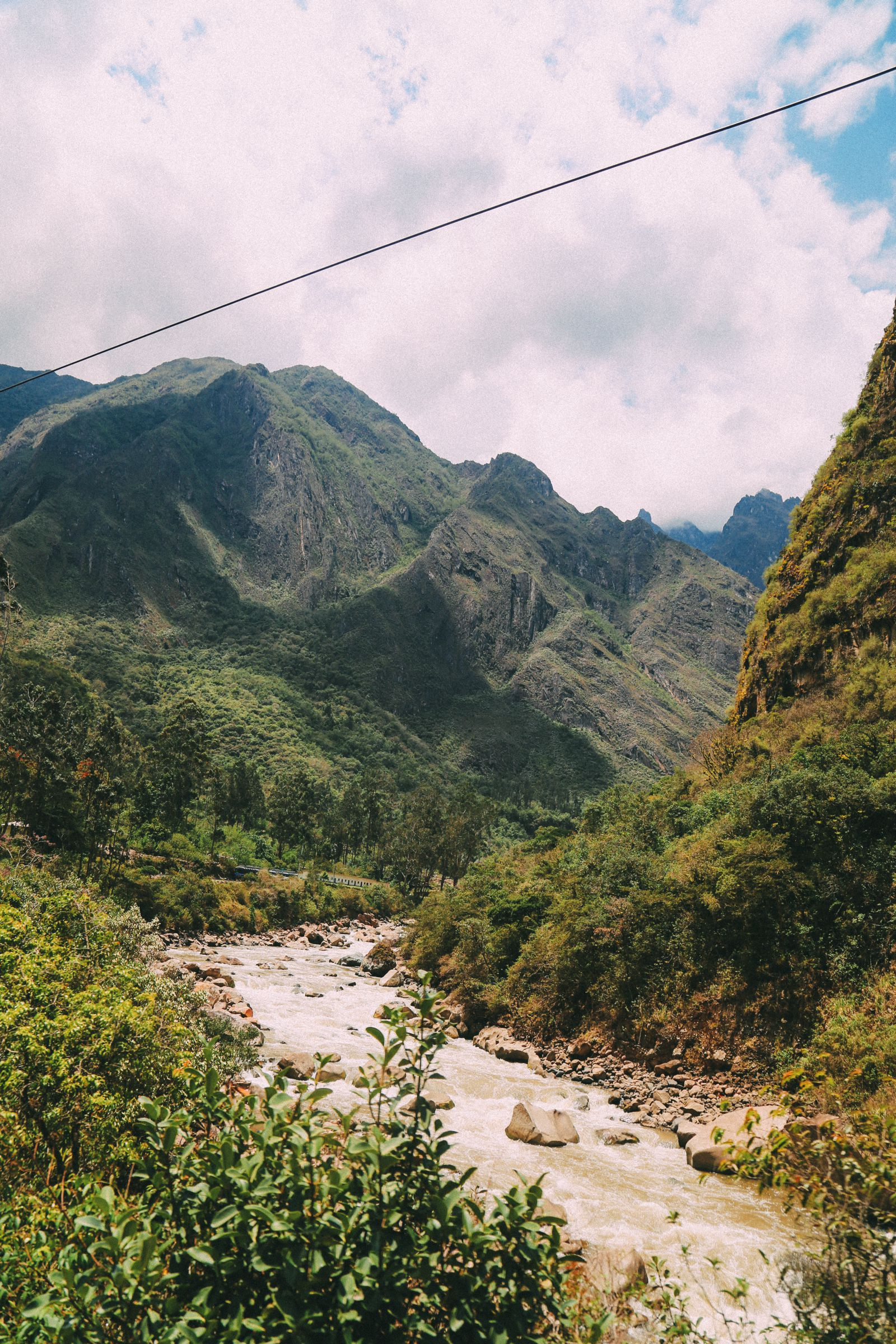 The Journey Up To Machu Picchu Village - Aguas Calientes, Peru (29)