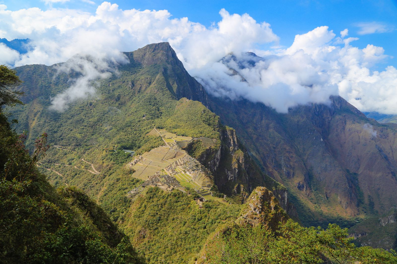 This Is The Most Unique View Of Machu Picchu At The Top Of Huayna