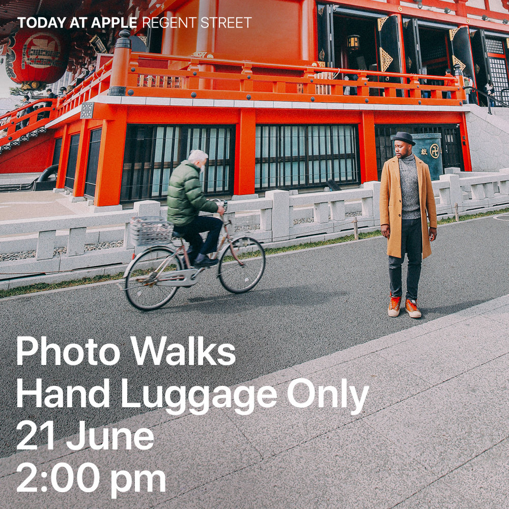 We're Partnering With Apple To Host A Free Photography Class For You!