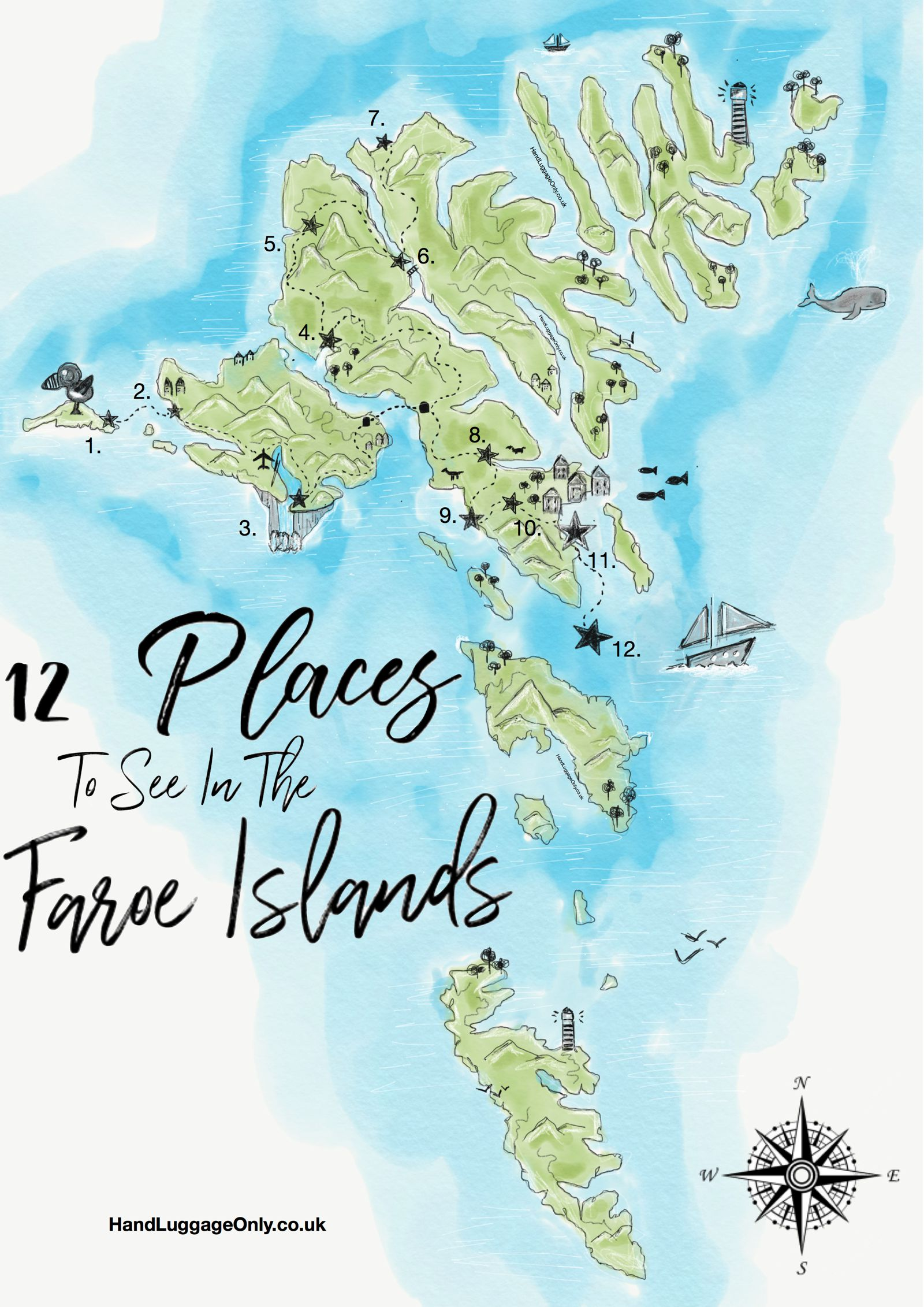 12 Beautiful Things To Do In The Faroe Islands - Hand Luggage Only ...