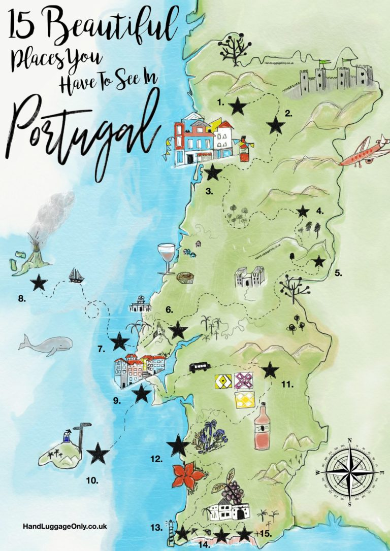 Portugal On The World Map Universal Orlando Park Map - Portugal england map