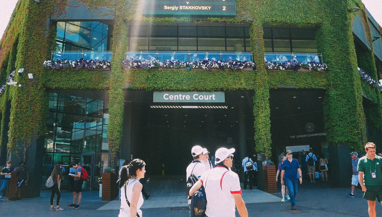 A DAY IN WIMBLEDON... || Watching Andy Murray, Rafael Nadal and Johanna Konta's Tennis Matches (10)