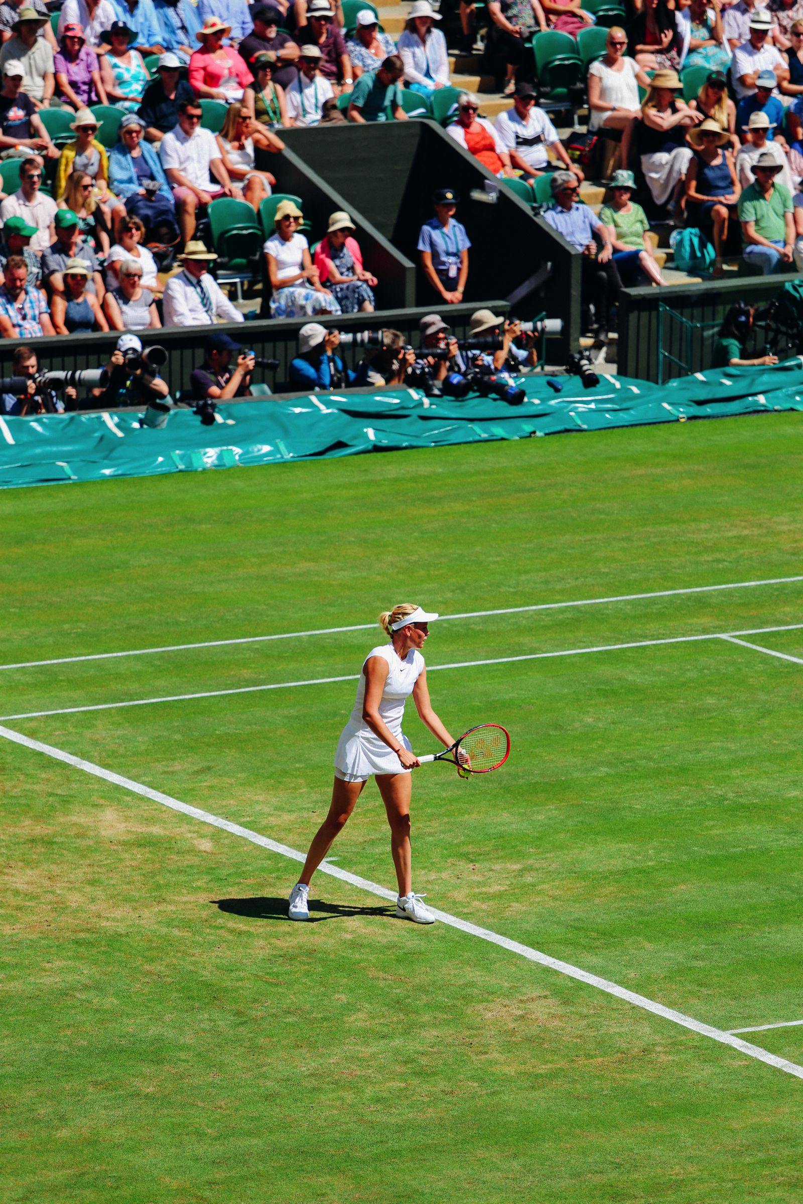 A DAY IN WIMBLEDON... || Watching Andy Murray, Rafael Nadal and Johanna Konta's Tennis Matches (7)