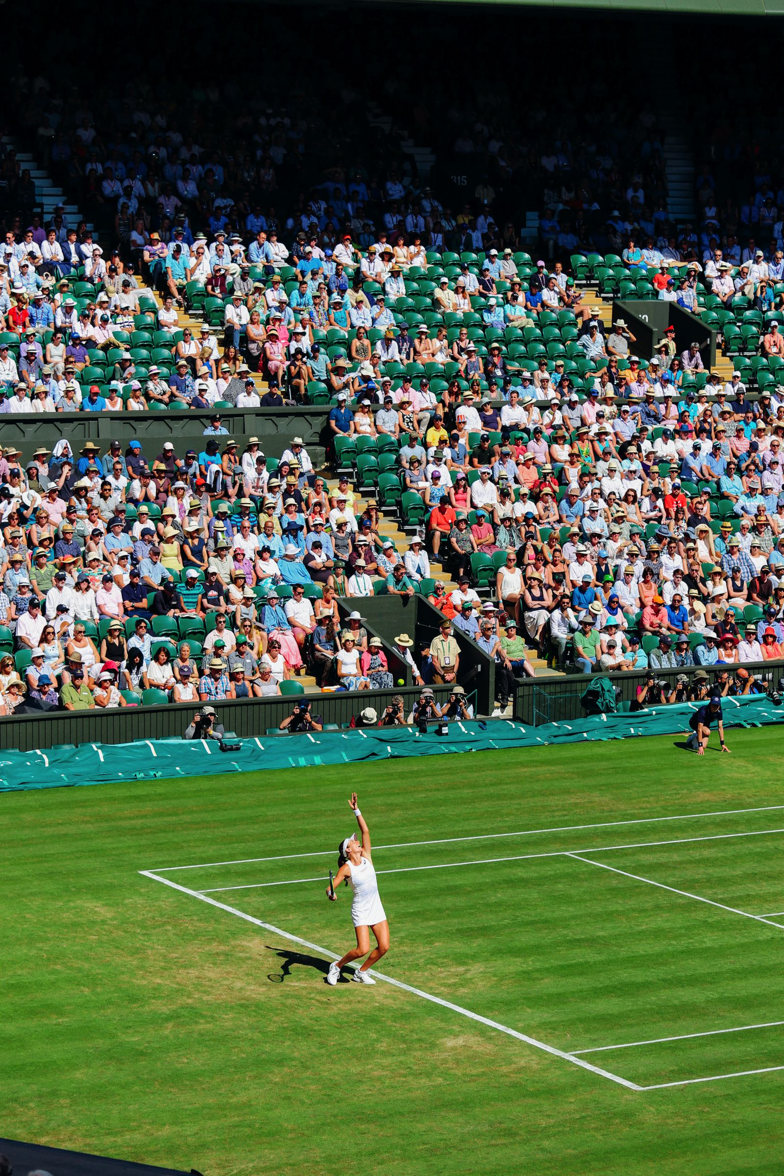 A DAY IN WIMBLEDON... || Watching Andy Murray, Rafael Nadal and Johanna Konta's Tennis Matches (12)