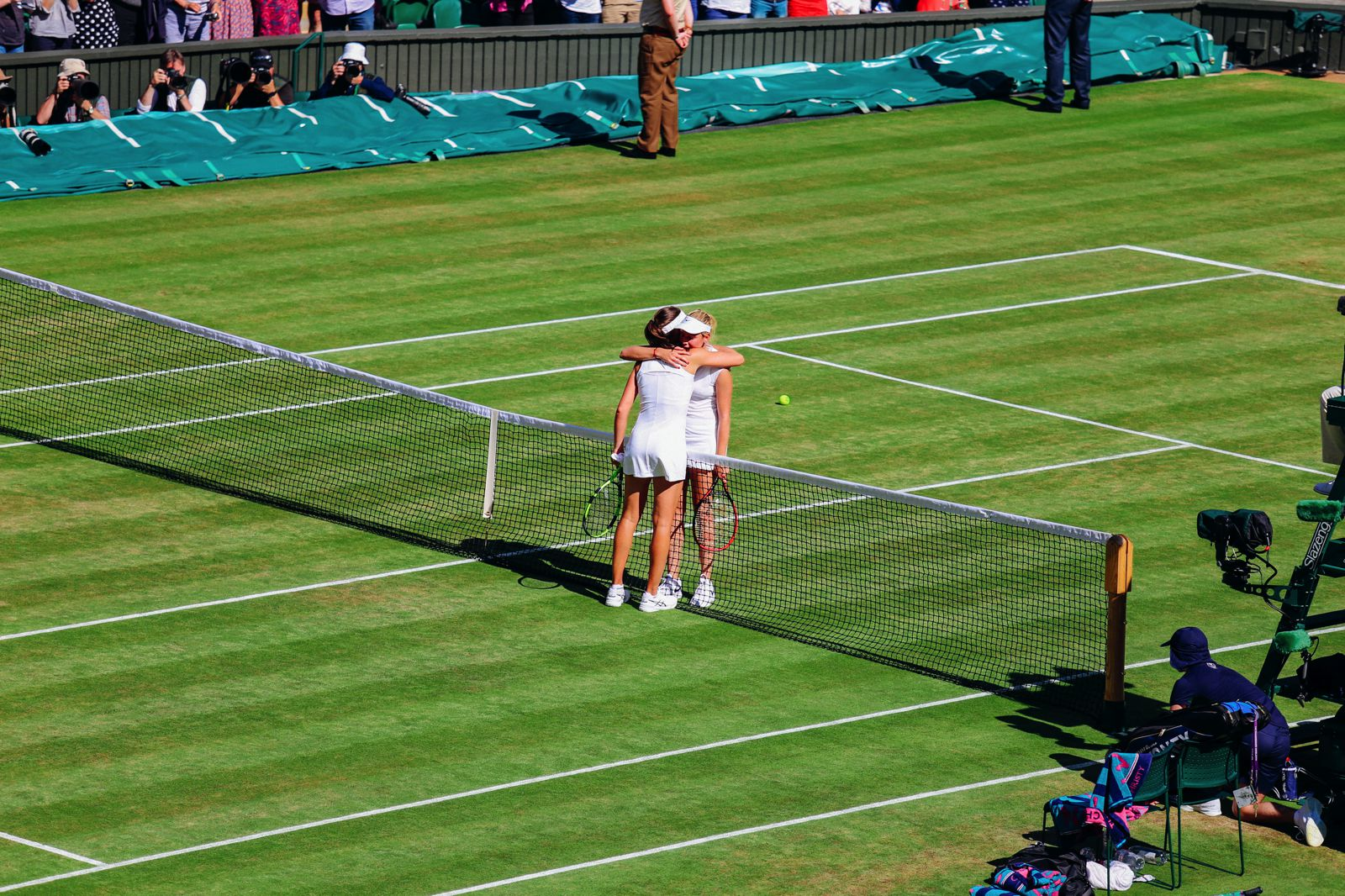 A DAY IN WIMBLEDON... || Watching Andy Murray, Rafael Nadal and Johanna Konta's Tennis Matches (15)