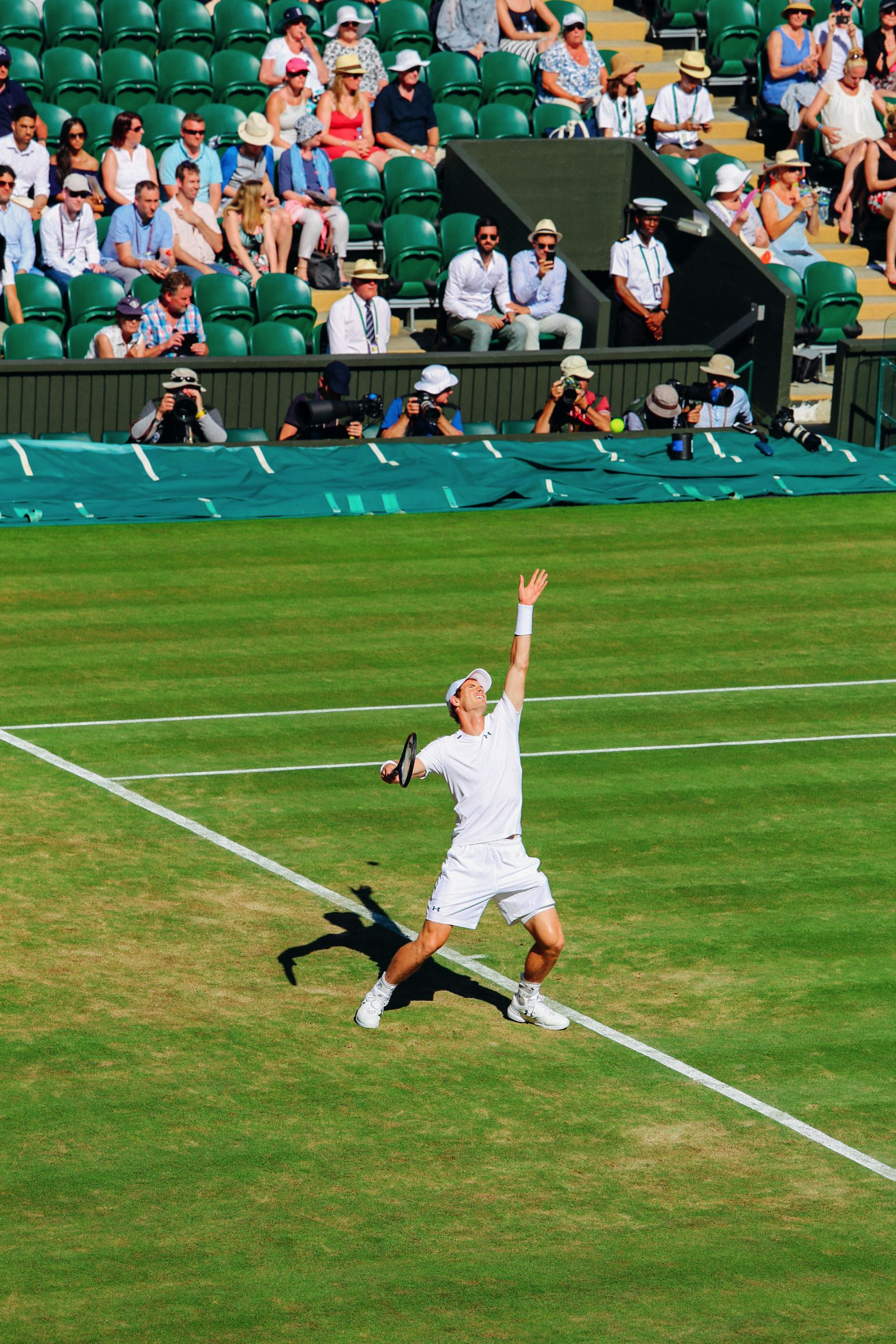 A DAY IN WIMBLEDON... || Watching Andy Murray, Rafael Nadal and Johanna Konta's Tennis Matches (18)