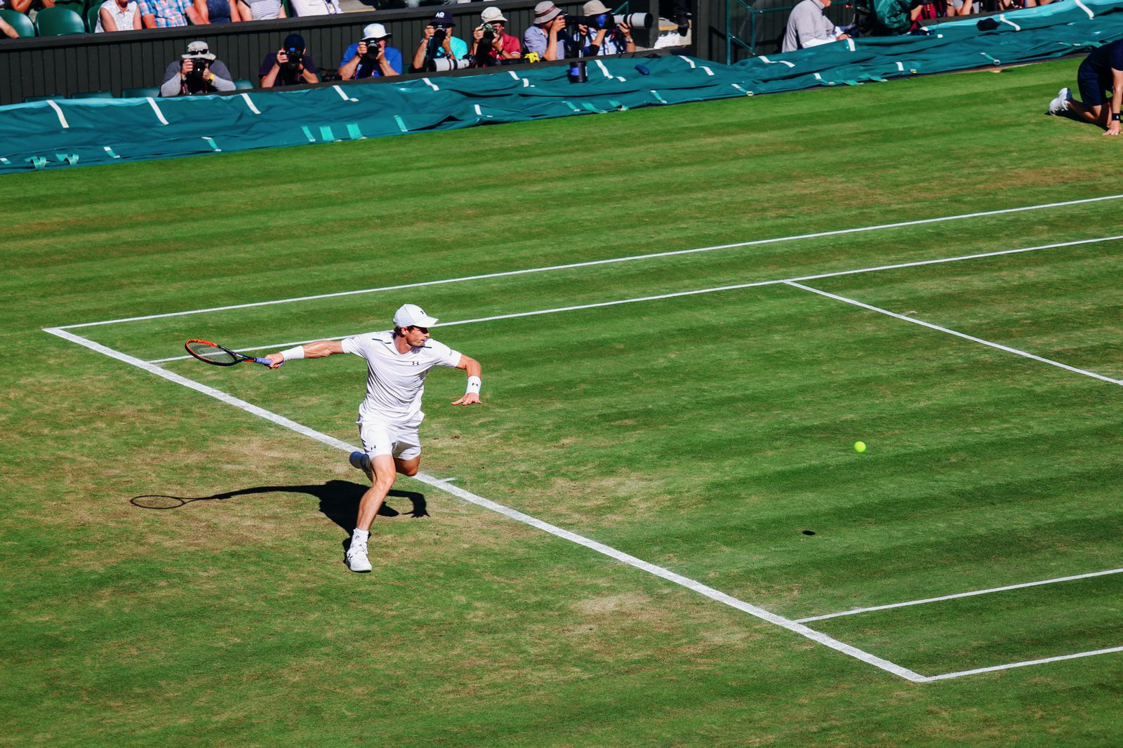 A DAY IN WIMBLEDON... || Watching Andy Murray, Rafael Nadal and Johanna Konta's Tennis Matches (21)