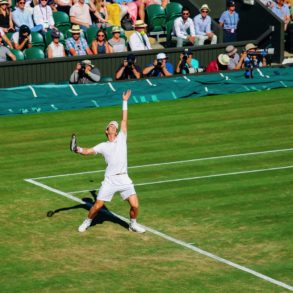 A DAY IN WIMBLEDON... || Watching Andy Murray, Rafael Nadal and Johanna Konta's Tennis Matches (22)