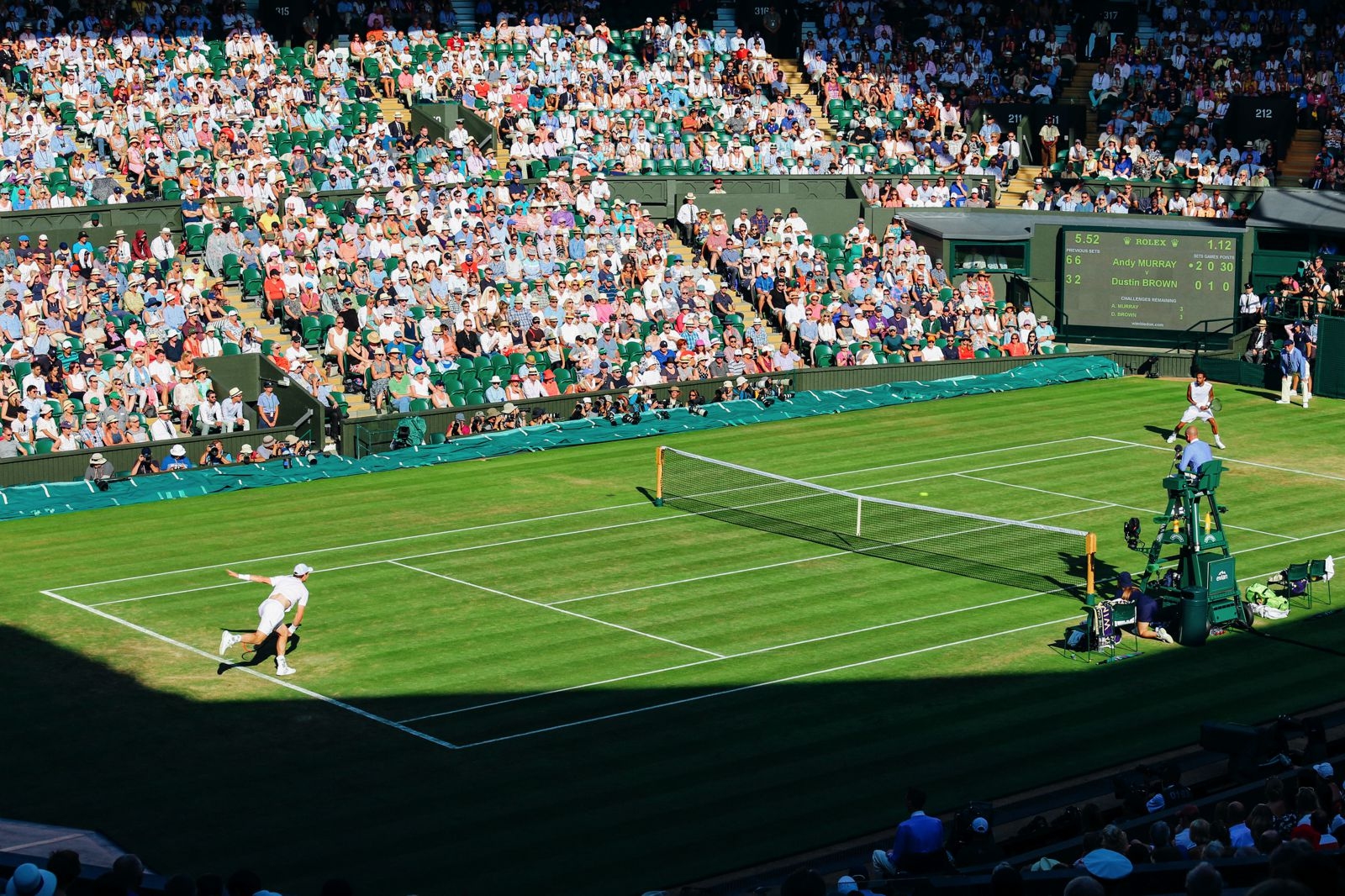 A DAY IN WIMBLEDON... || Watching Andy Murray, Rafael Nadal and Johanna Konta's Tennis Matches (27)
