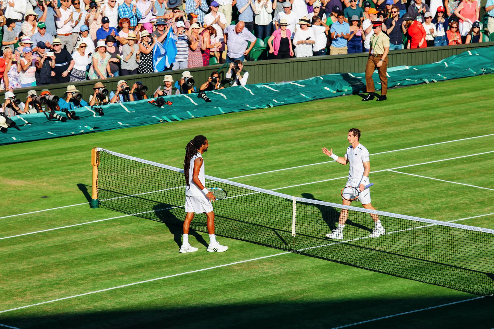 A DAY IN WIMBLEDON... || Watching Andy Murray, Rafael Nadal and Johanna Konta's Tennis Matches (29)