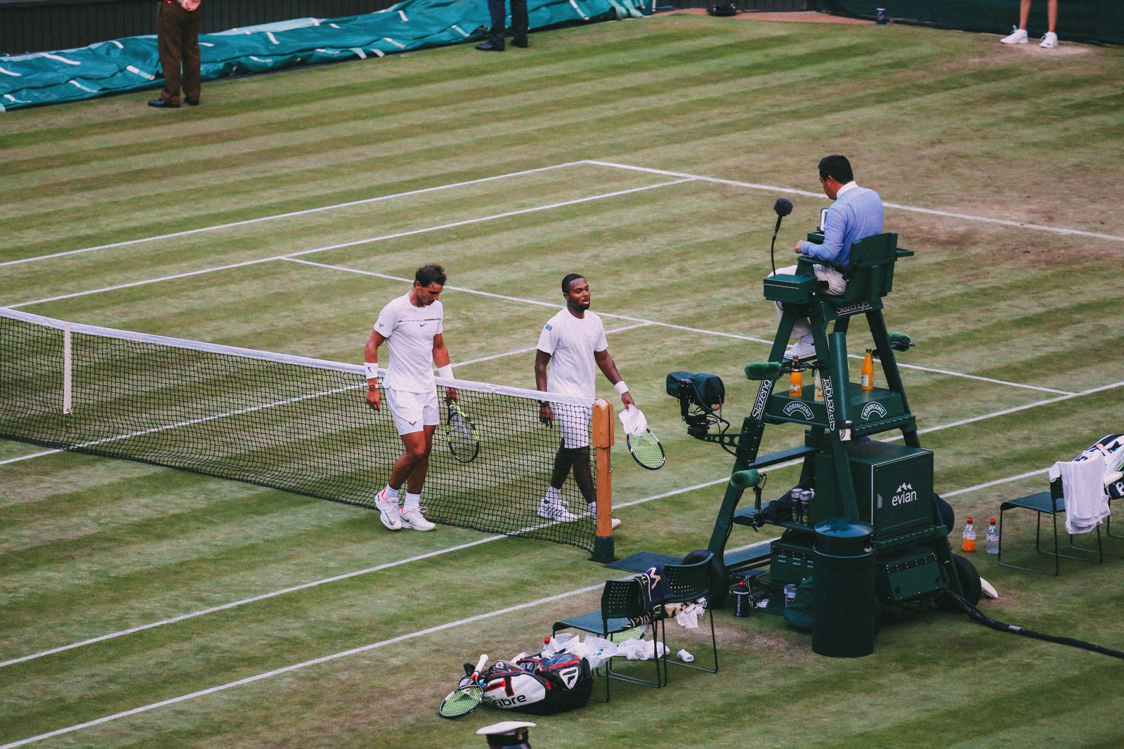 A DAY IN WIMBLEDON... || Watching Andy Murray, Rafael Nadal and Johanna Konta's Tennis Matches (43)