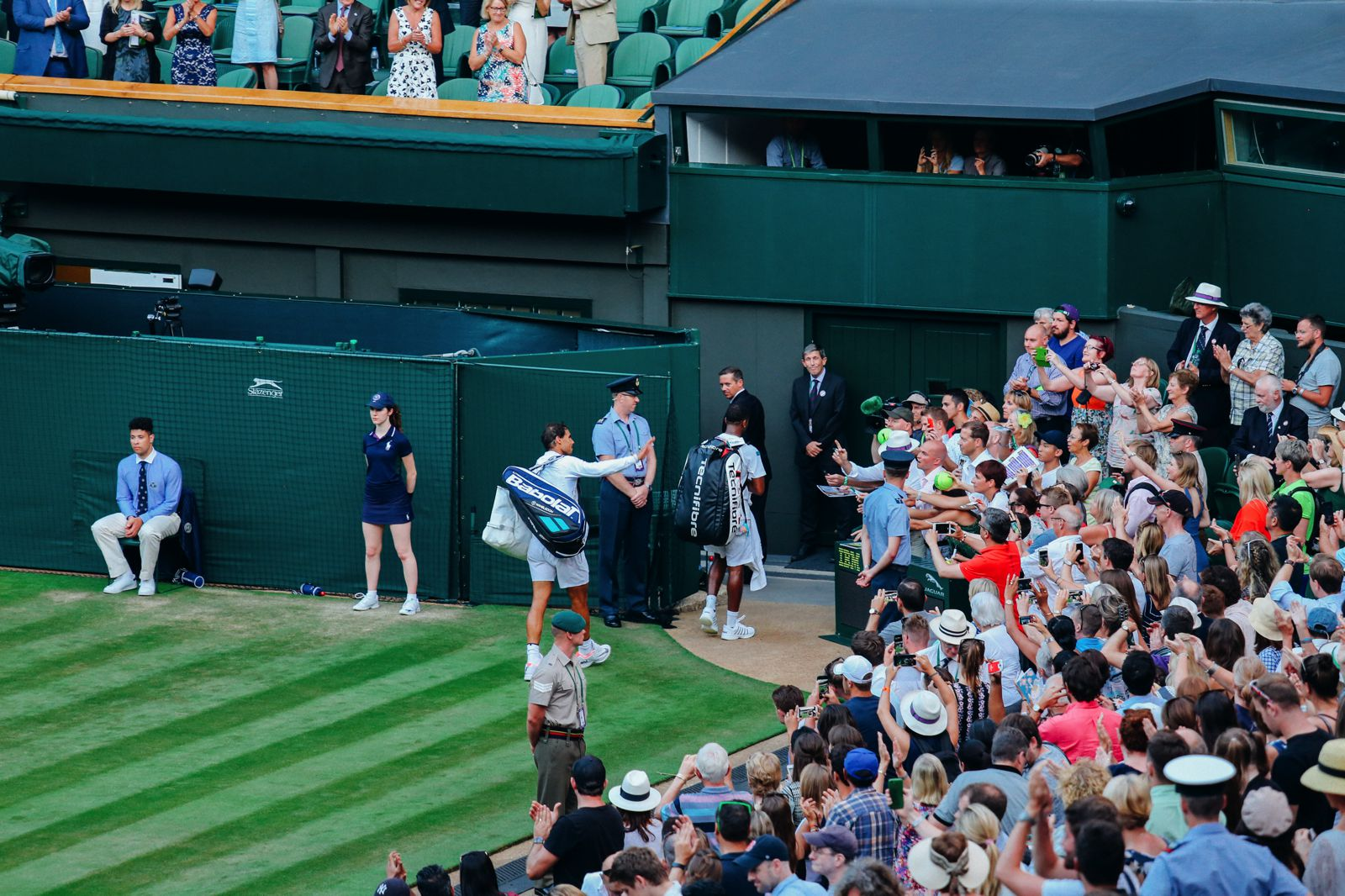 A DAY IN WIMBLEDON... || Watching Andy Murray, Rafael Nadal and Johanna Konta's Tennis Matches (45)