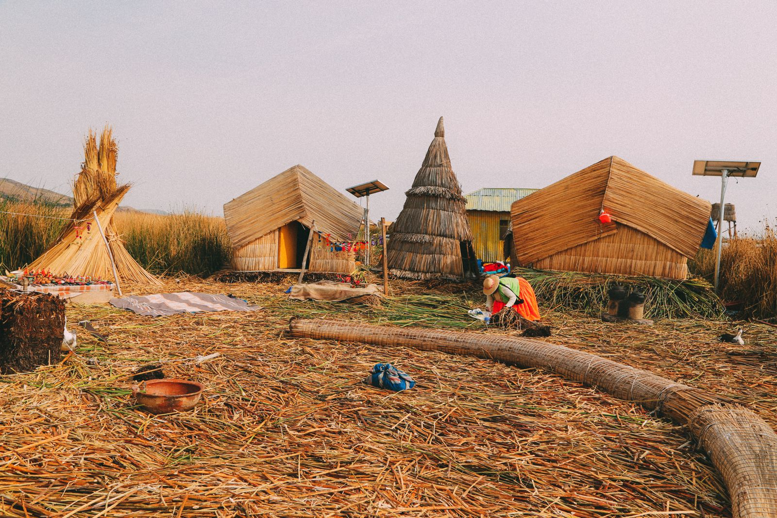 Exploring The Amazing Uros Floating Islands Of Lake Titicaca... In Peru (26)