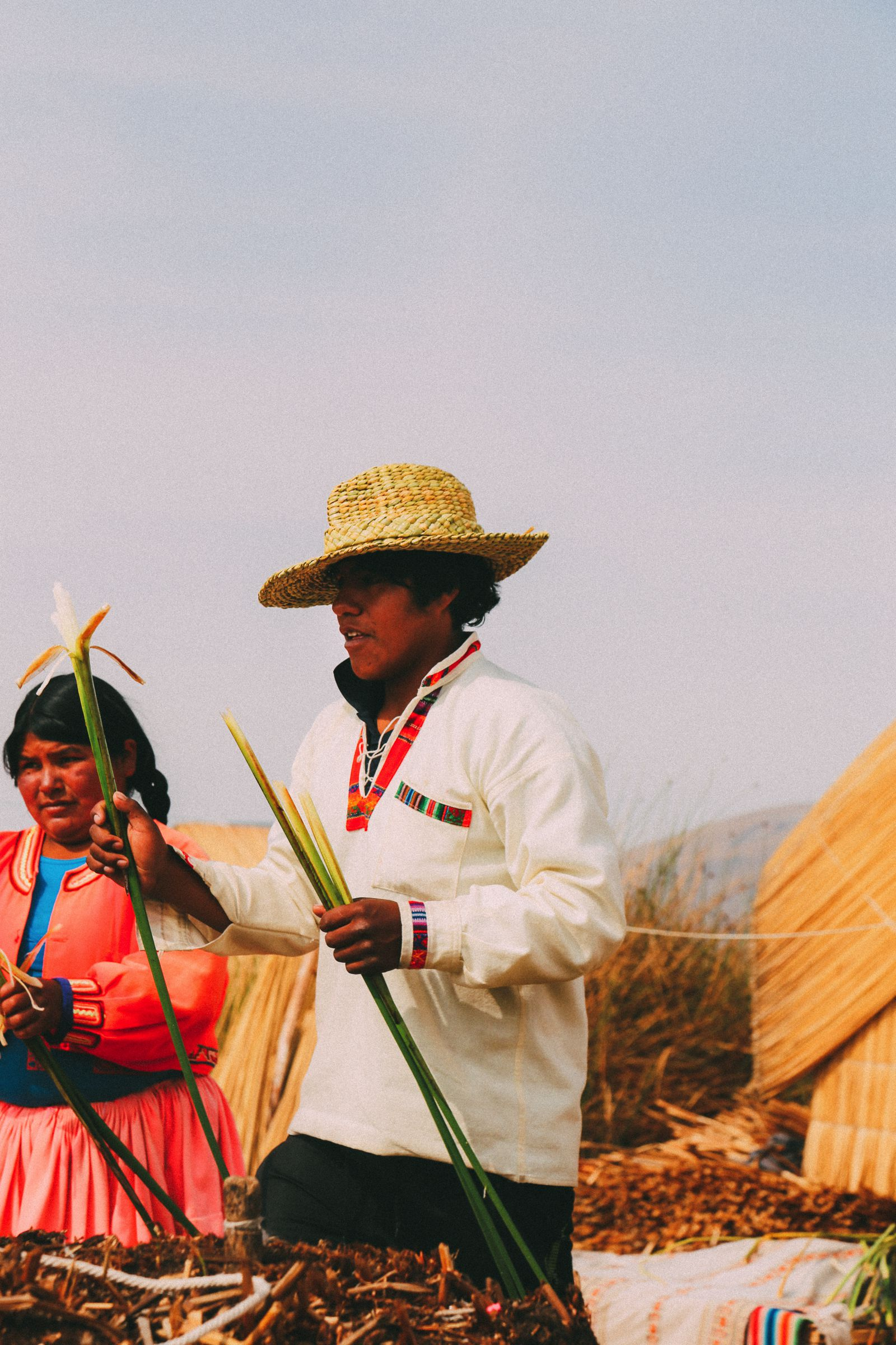 Exploring The Amazing Uros Floating Islands Of Lake Titicaca... In Peru (33)