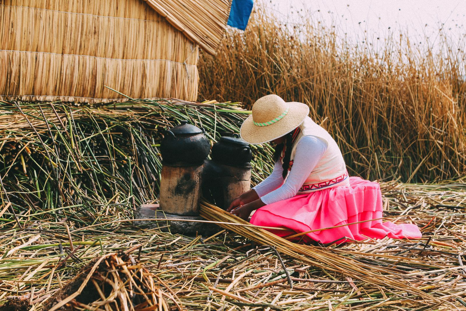 Exploring The Amazing Uros Floating Islands Of Lake Titicaca... In Peru (35)