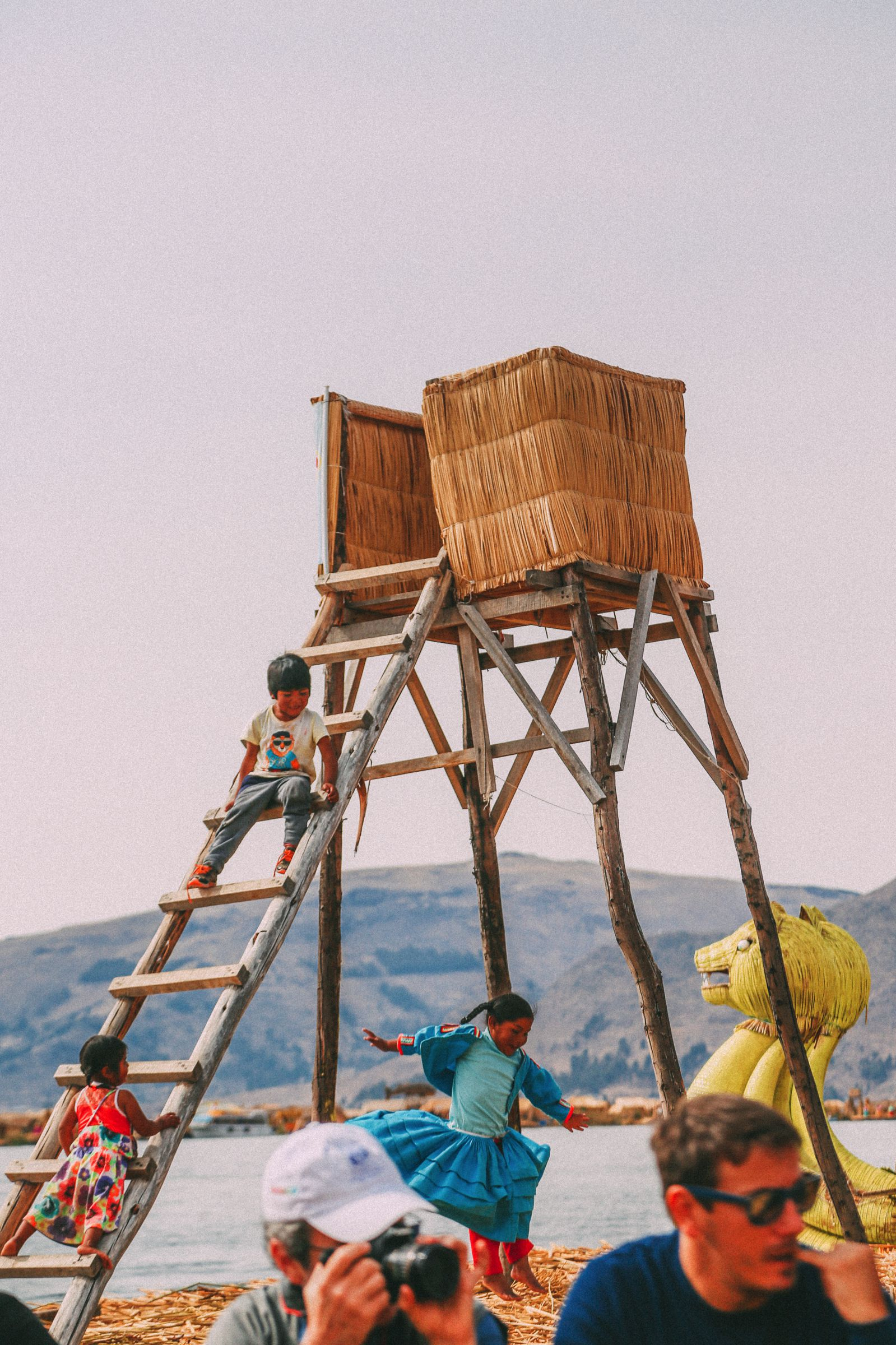 Exploring The Amazing Uros Floating Islands Of Lake Titicaca... In Peru (38)