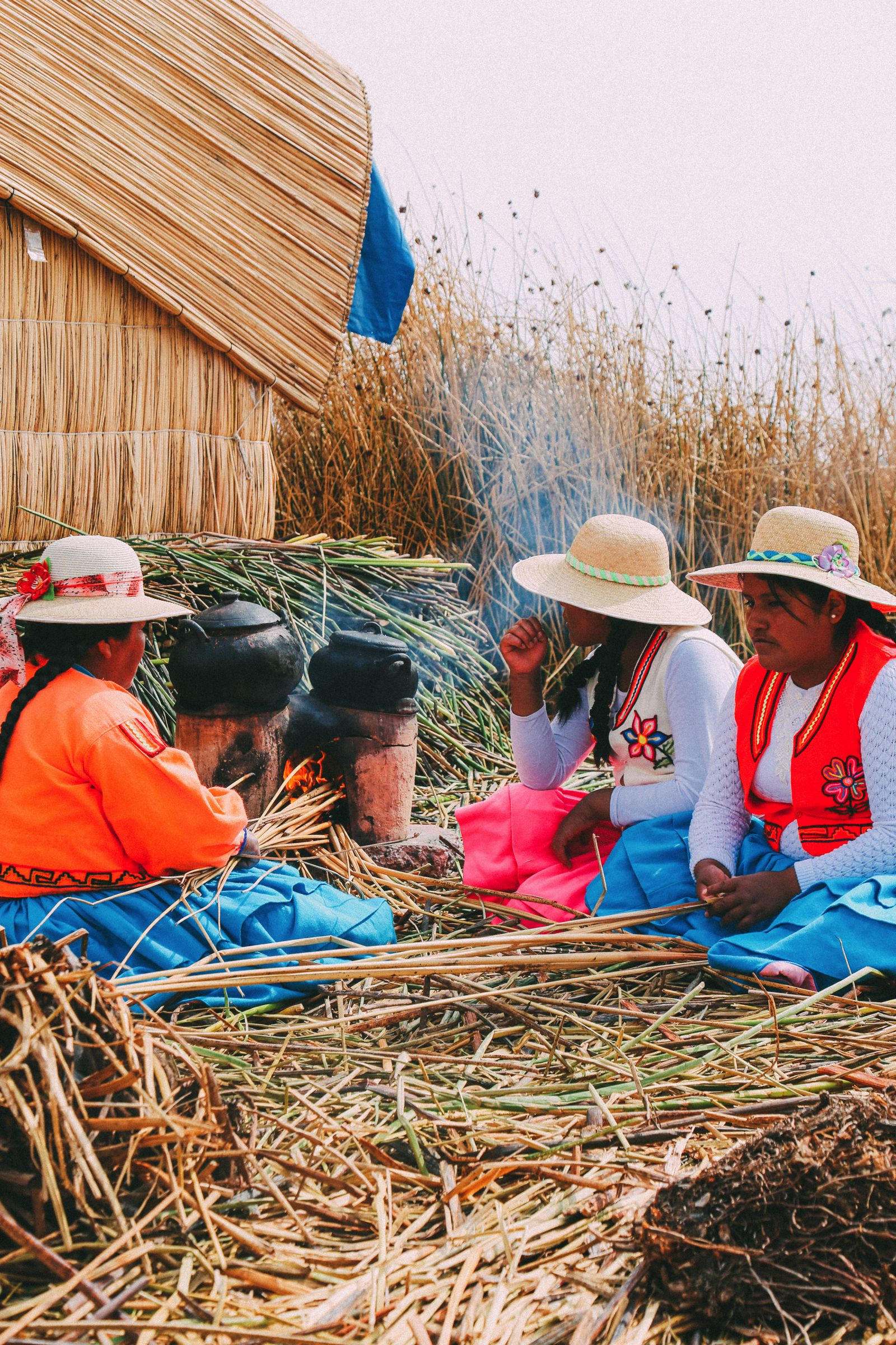 Exploring The Amazing Uros Floating Islands Of Lake Titicaca... In Peru (41)