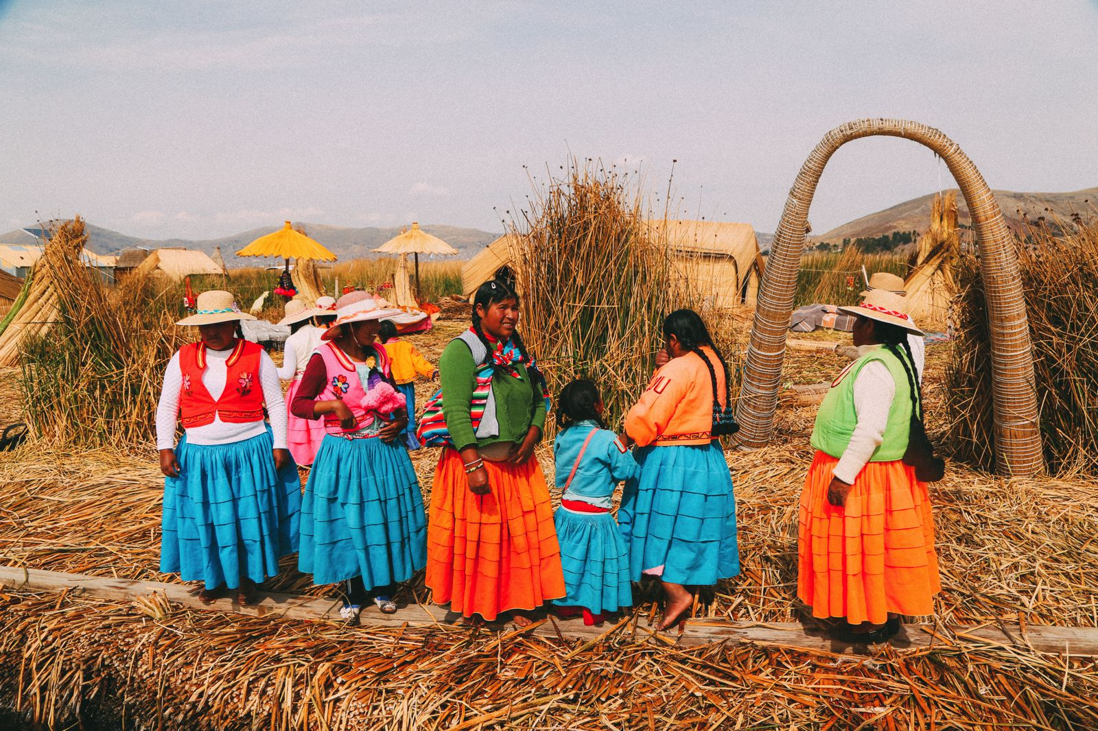 Exploring The Amazing Uros Floating Islands Of Lake Titicaca... In Peru (44)